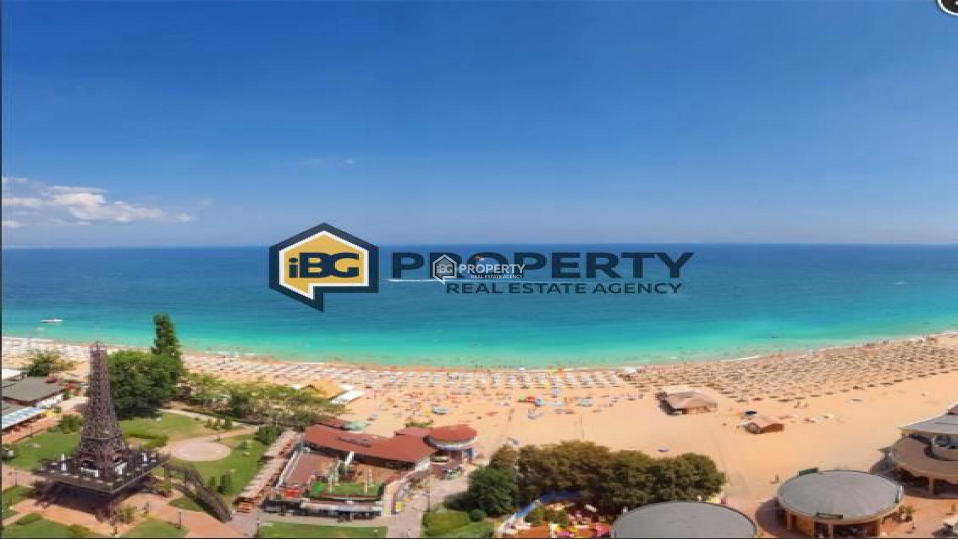 Голям двустаен апартамент Златни Пясъци 93 m2