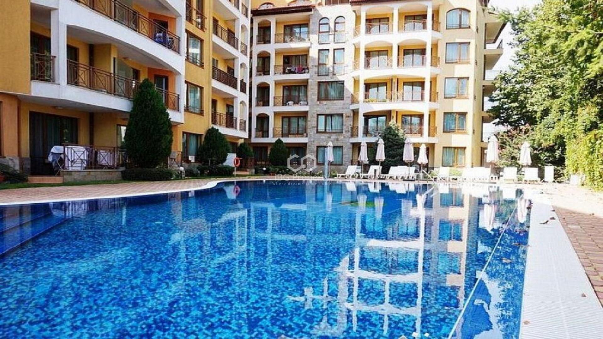 Двустаен апартамент Слънчев Бряг 116,64 m2