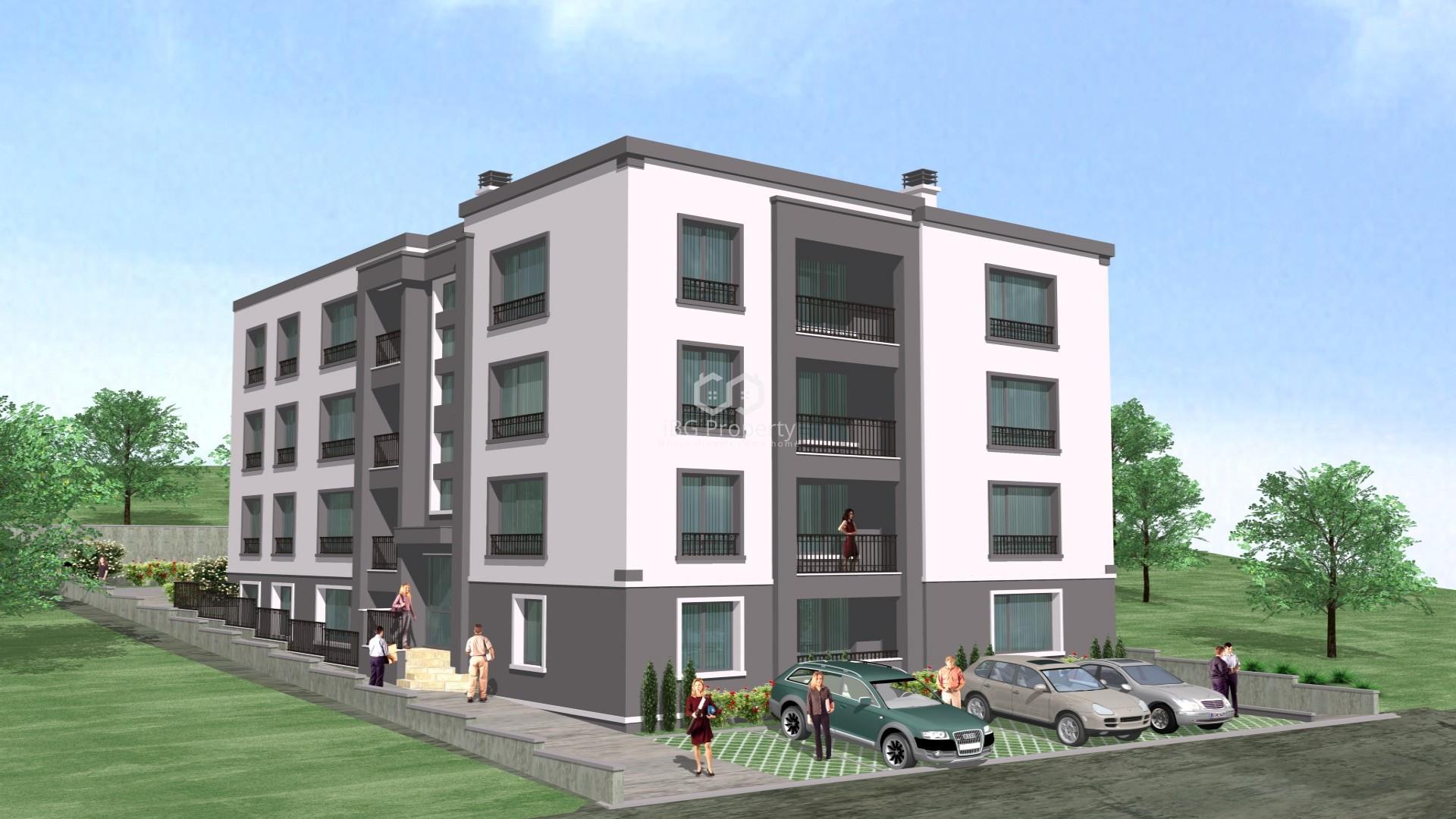 Двустаен апартамент Пчелина Варна 30 m2