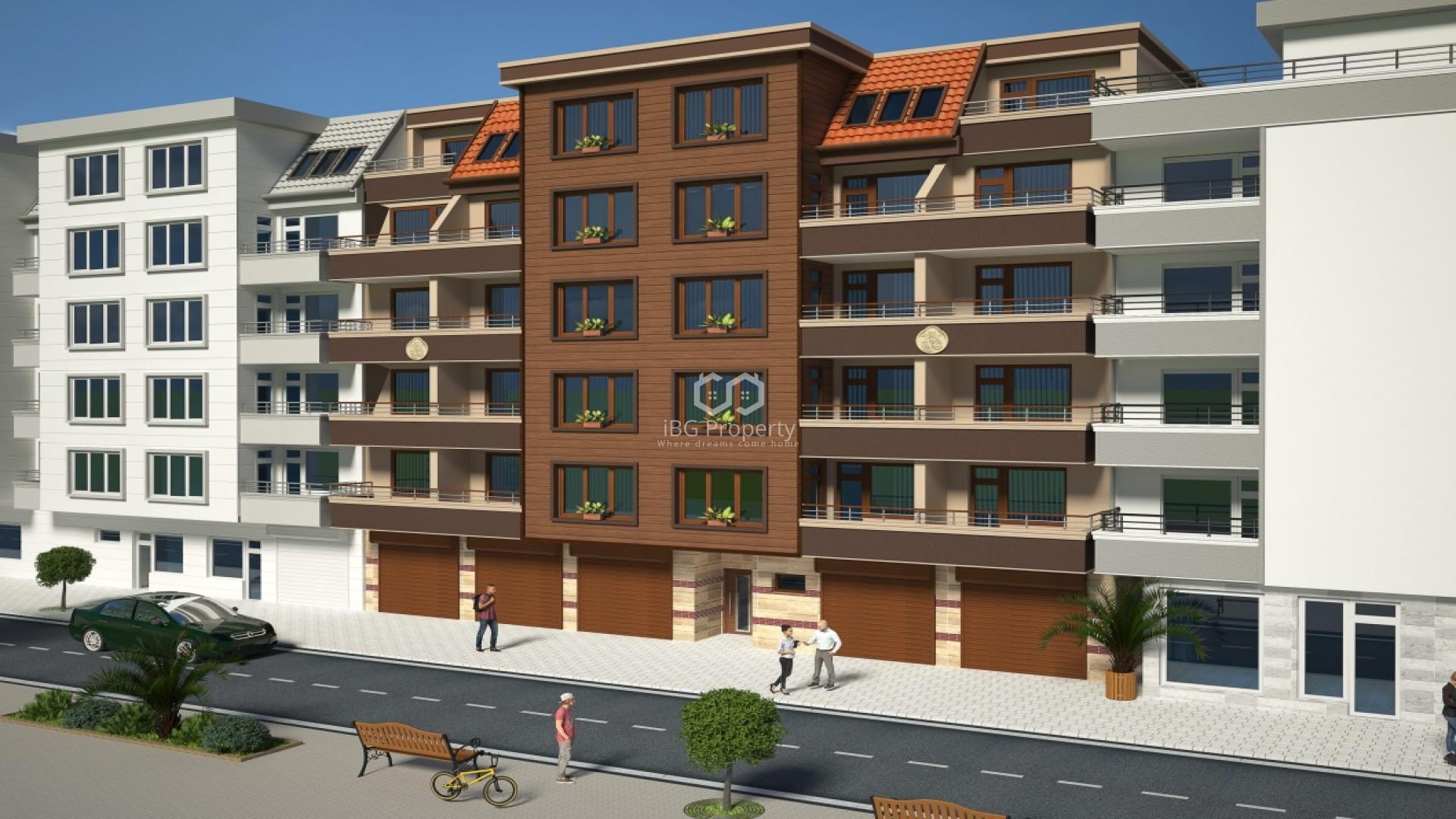 Тристаен апартамент Поморие 64 m2