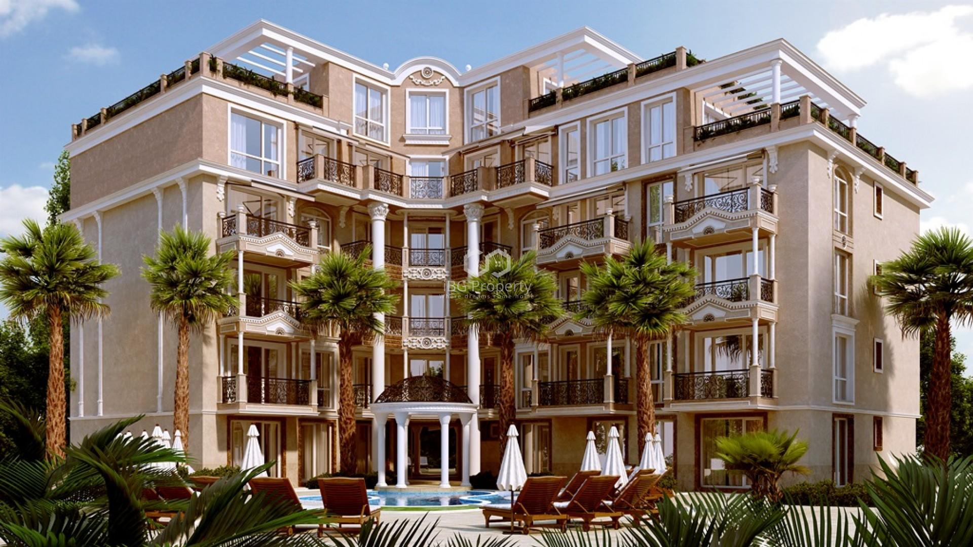 Тристаен апартамент Слънчев Бряг 81 m2