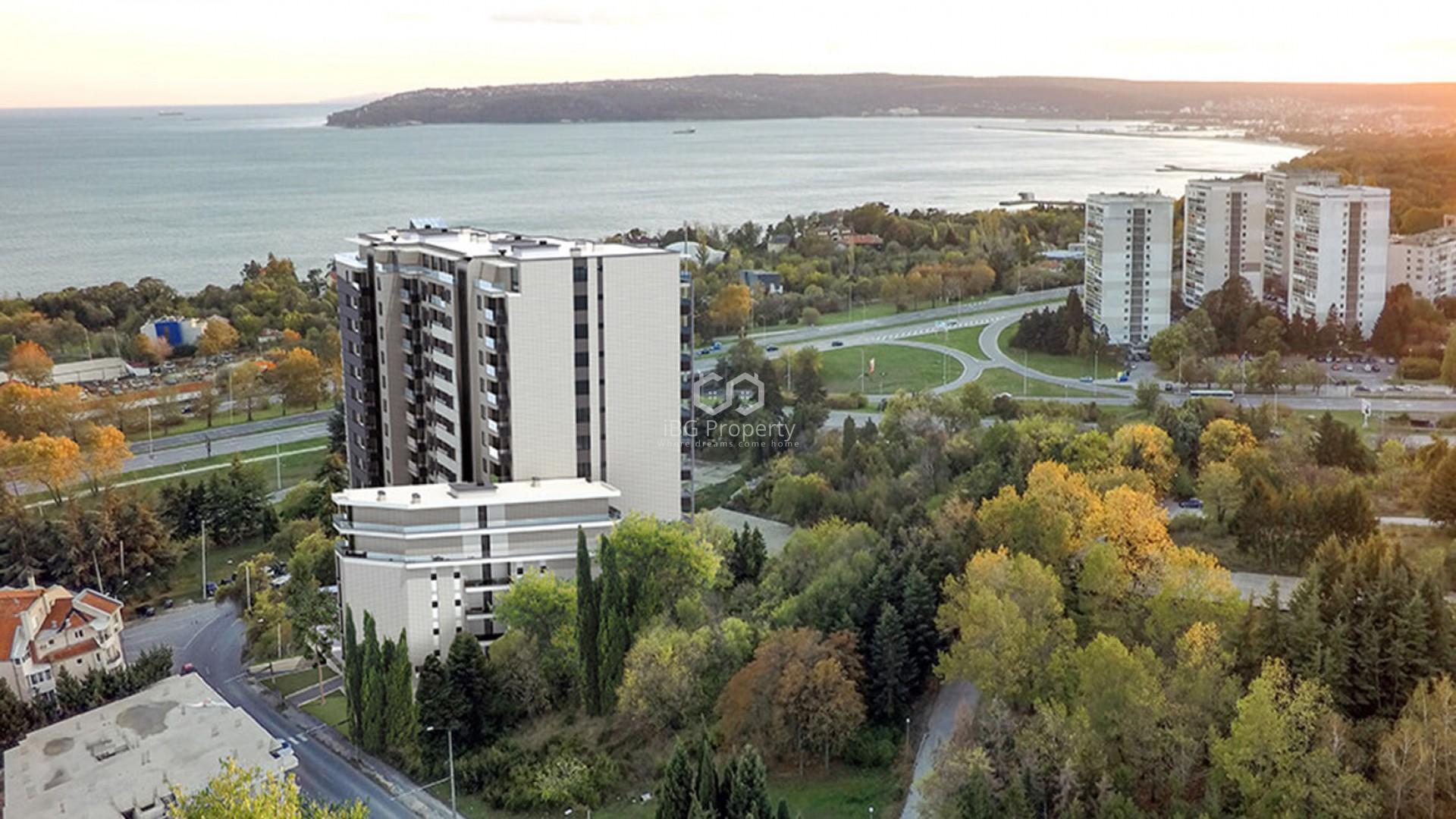 Тристаен апартамент Бриз Варна 85 m2