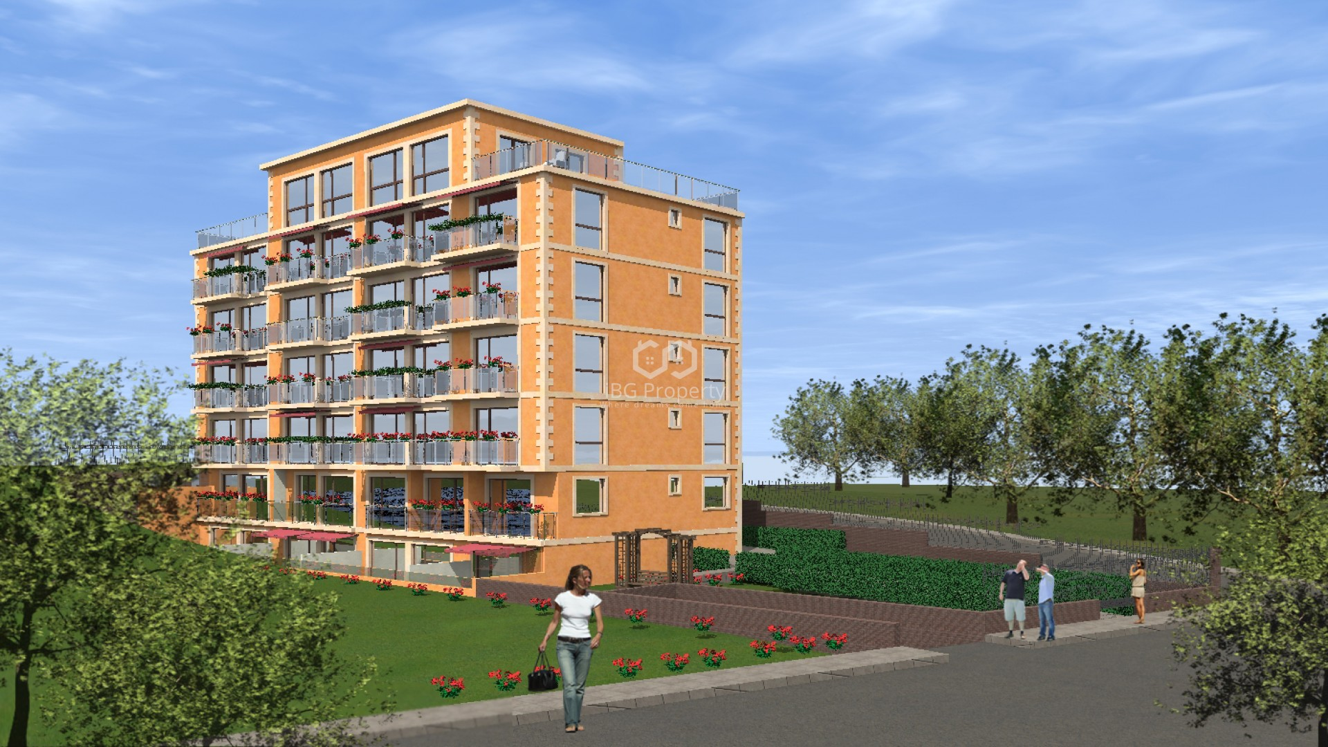 Едностаен апартамент Златни Пясъци 42 m2