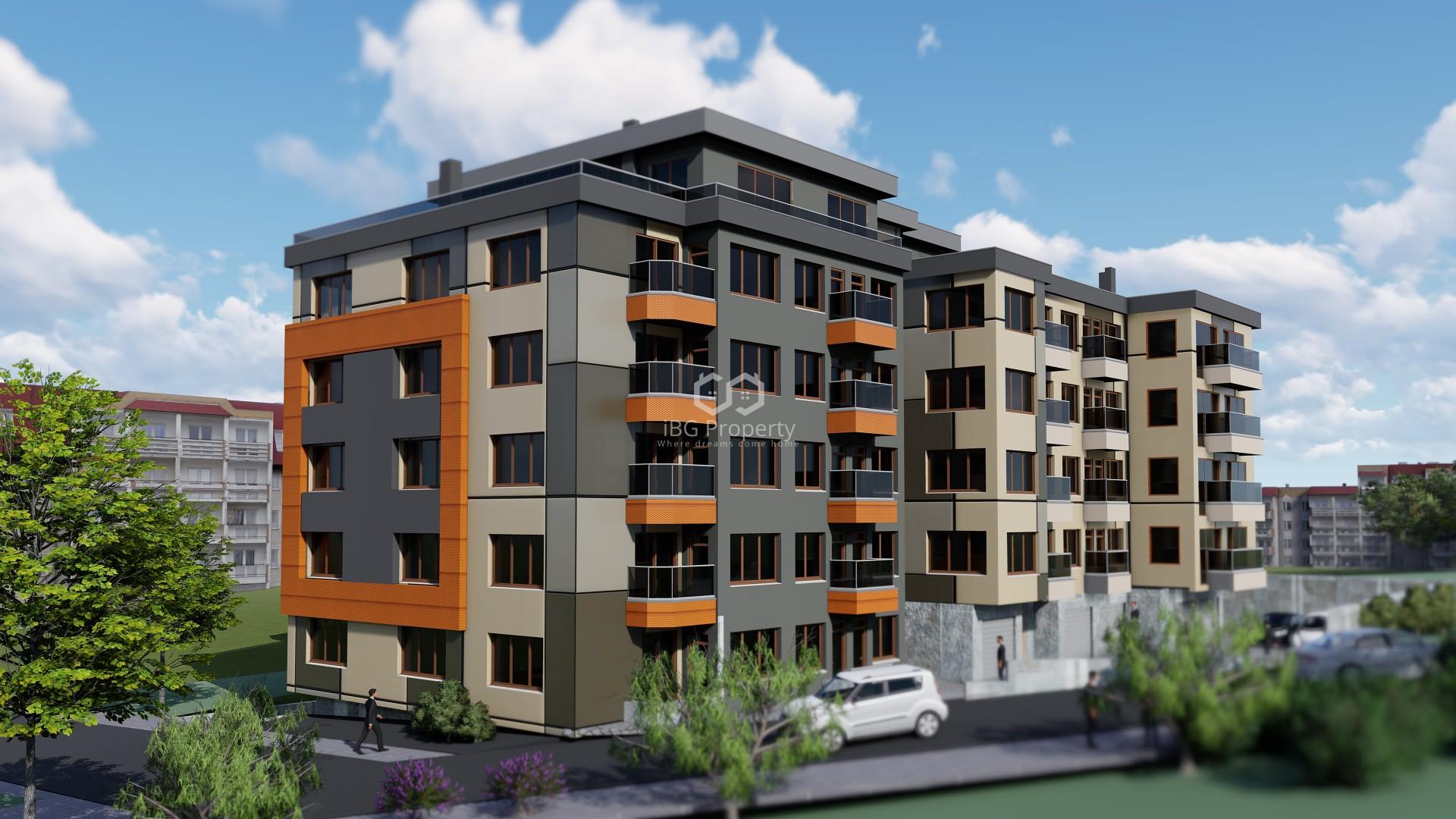 Тристаен апартамент Кайсиева градина Варна 70 m2