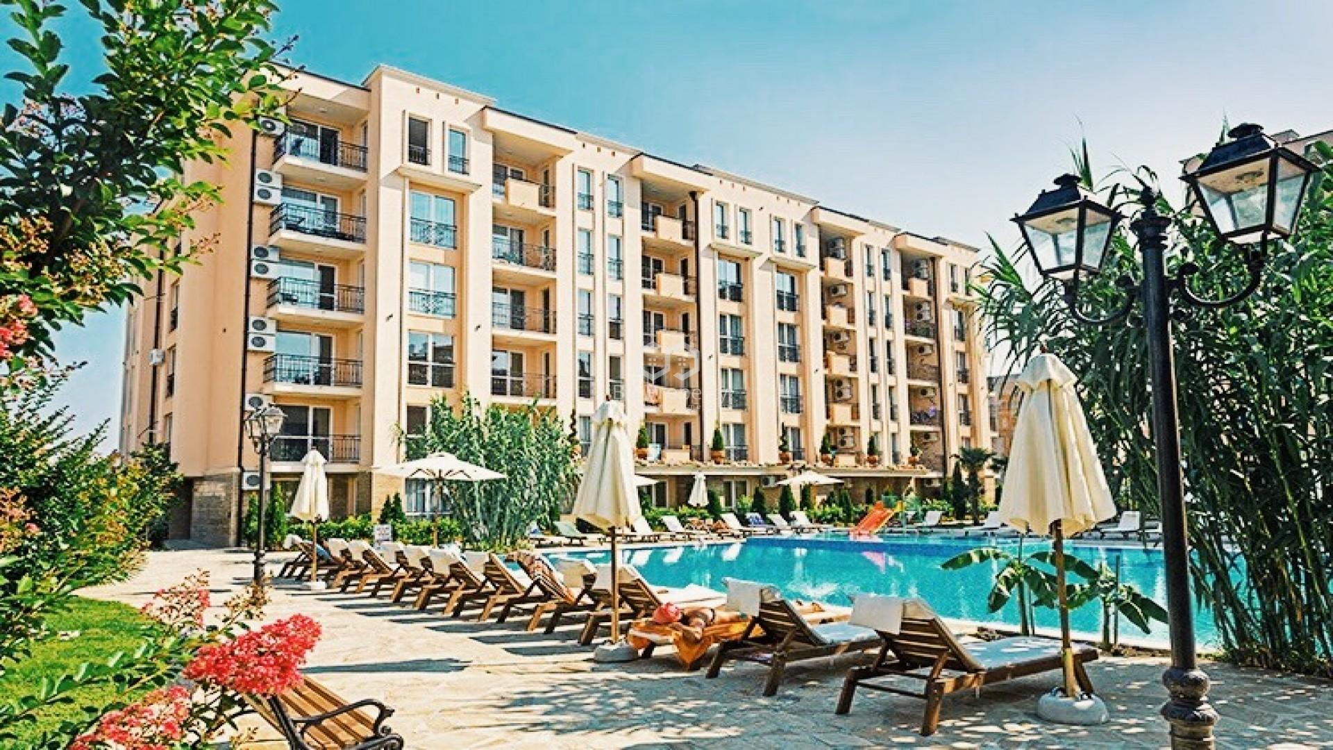 Двустаен апартамент Слънчев Бряг 53,7 m2