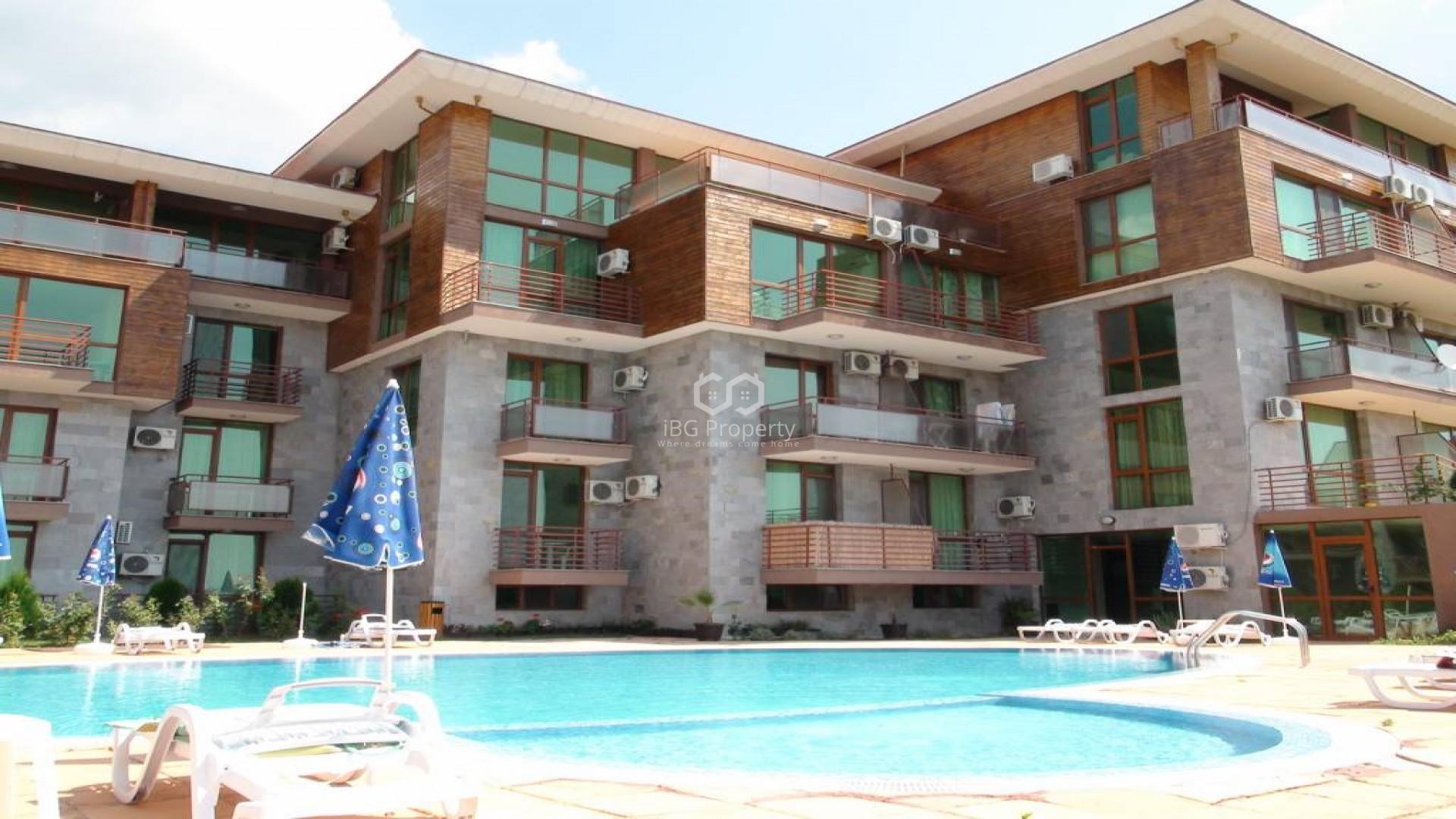 Двустаен апартамент Слънчев бряг  70 m2