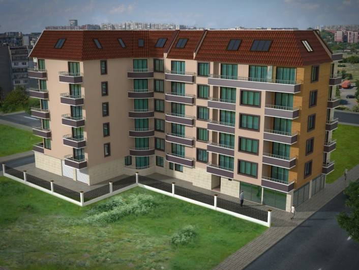 Tристаен апартамент Поморие 47 m2