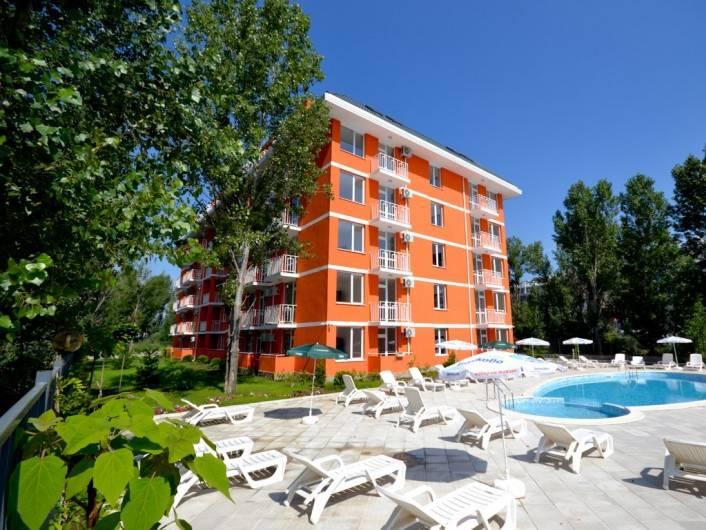 Двустаен апартамент Слънчев Бряг 40 m2