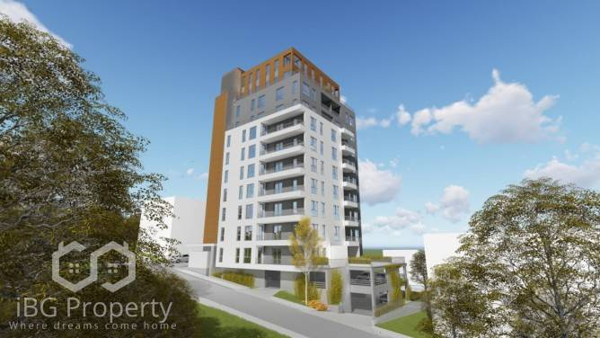 Двустаен апартамент Бриз Варна 79 m2