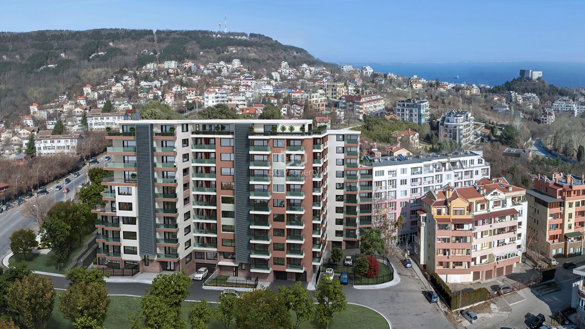 Многостаен апартамент Бриз Варна 133 m2