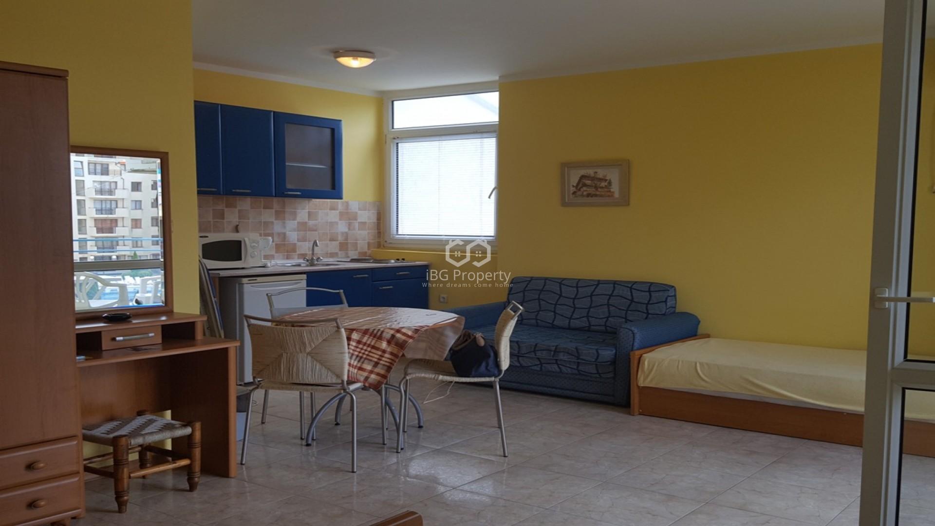 Eдностаен апартамент Слънчев Бряг 46 m2