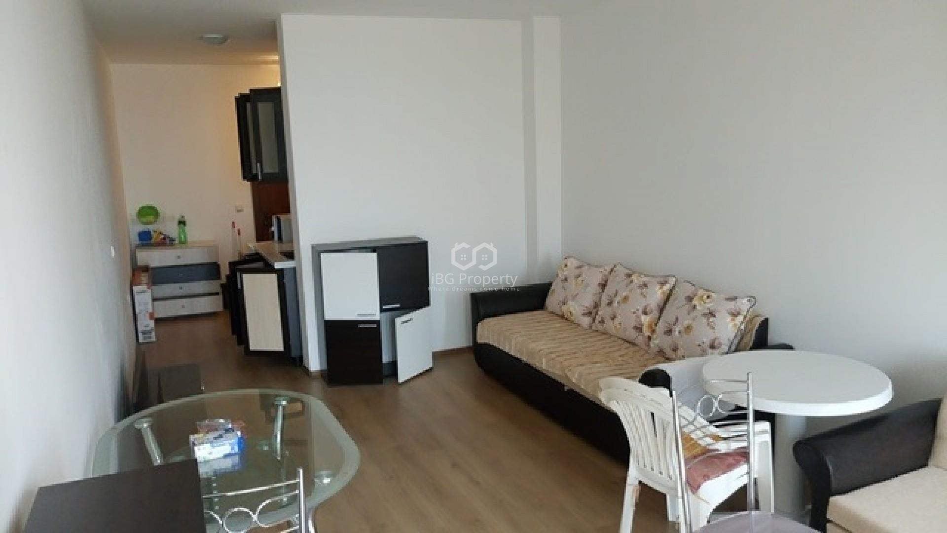 Eдностаен апартамент Слънчев Бряг 49 m2