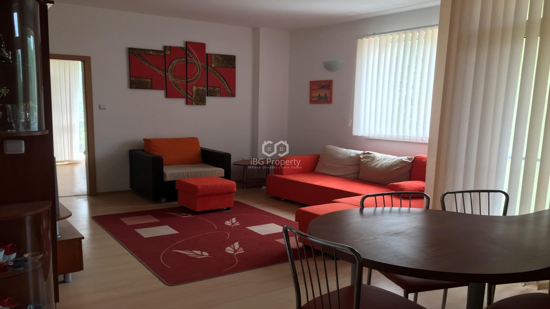 Двустаен апартамент Слънчев Бряг 62 m2