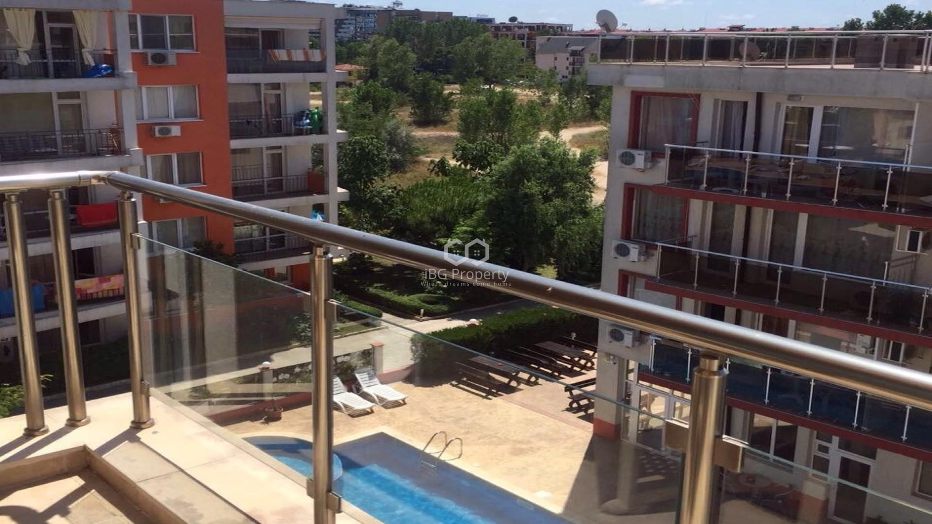 Двустаен апартамент Слънчев Бряг 66 m2