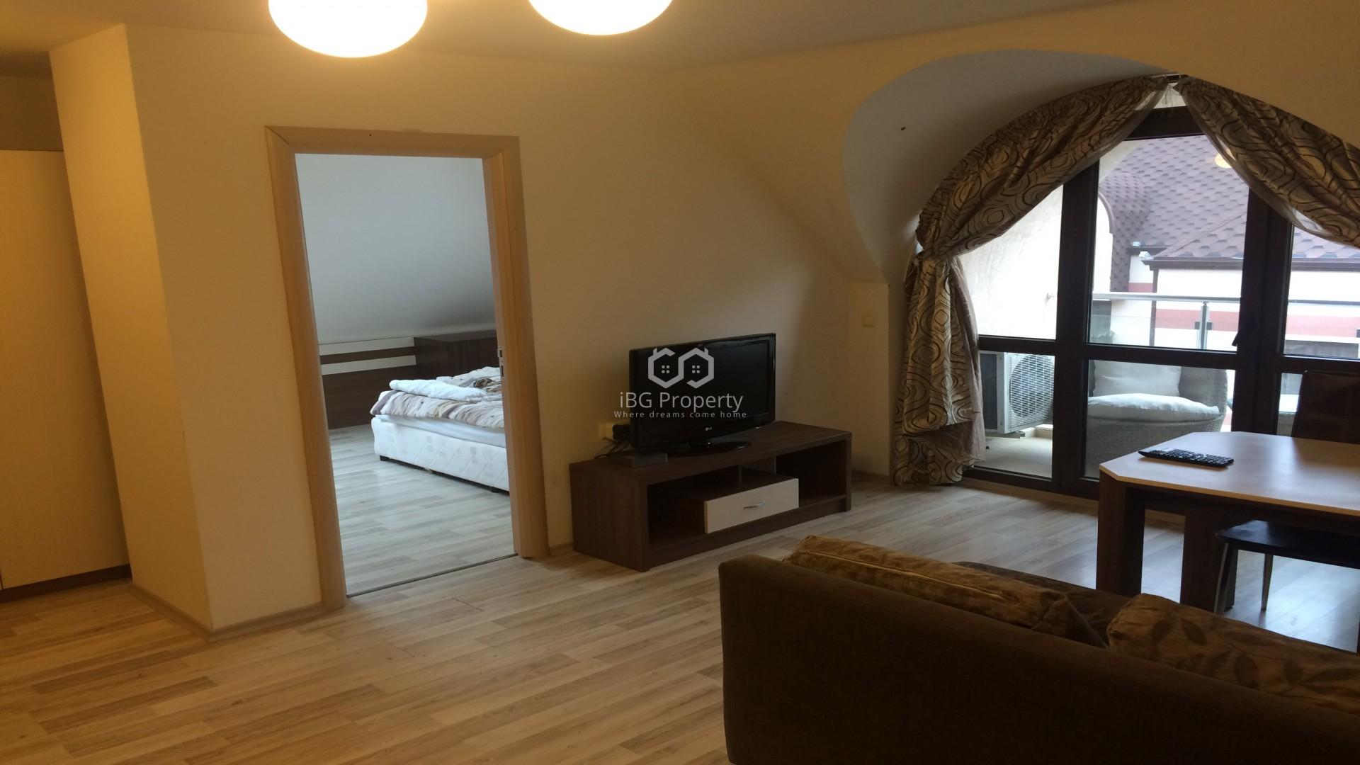 Двустаен апартамент Слънчев Бряг 64 m2