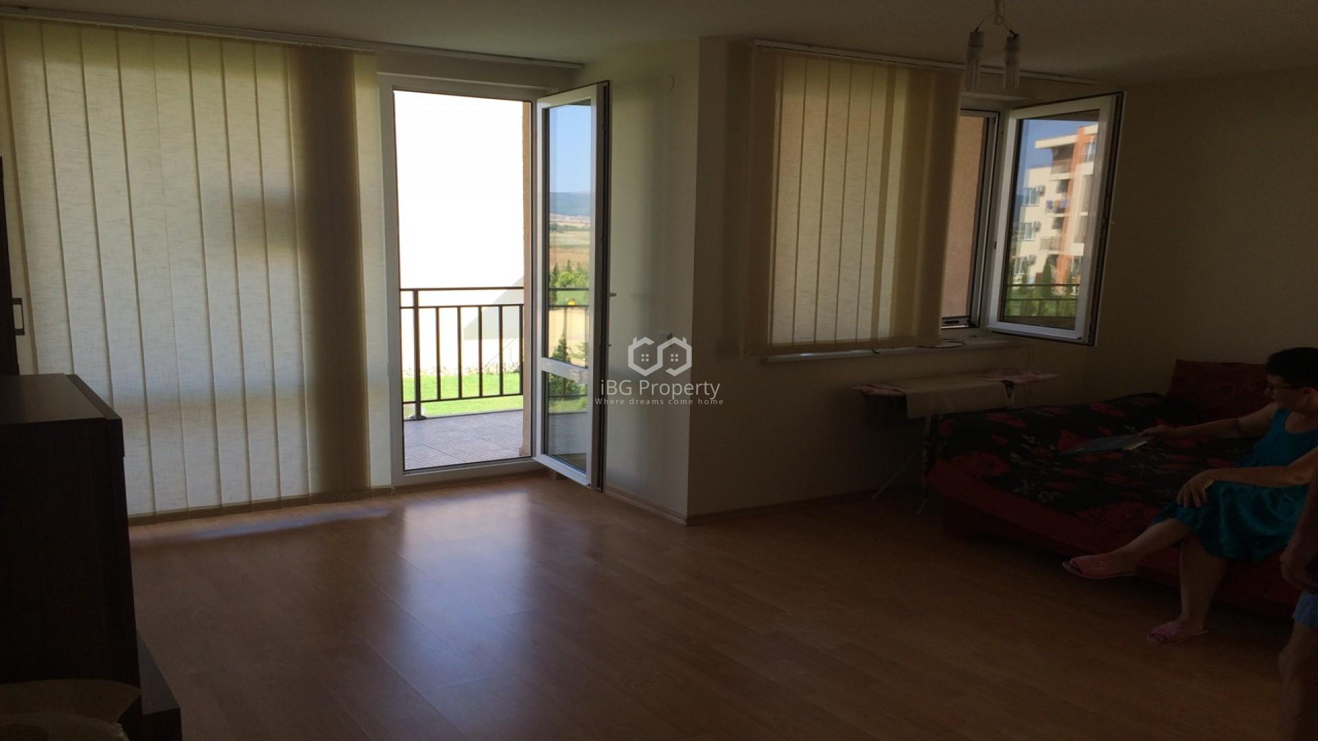 Eдностаен апартамент Слънчев Бряг 52 m2