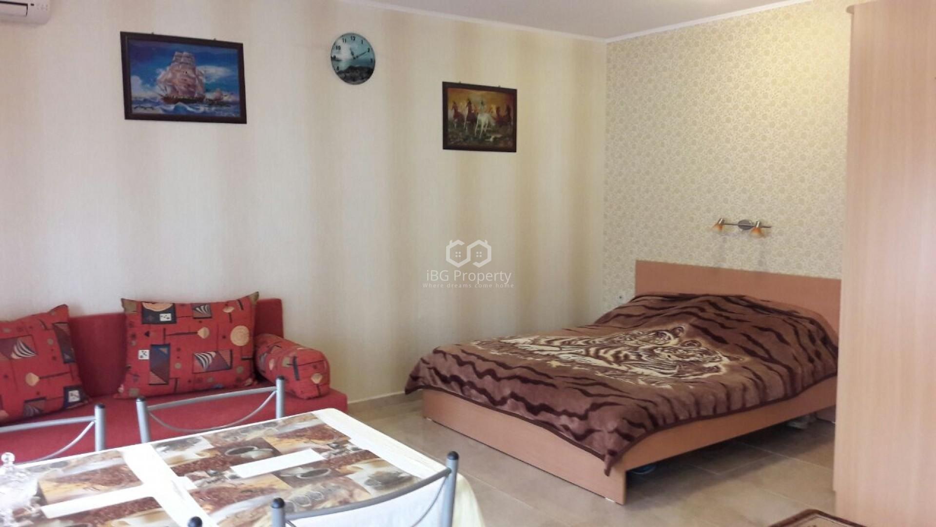 Eдностаен апартамент Черно море Несебър  34 m2