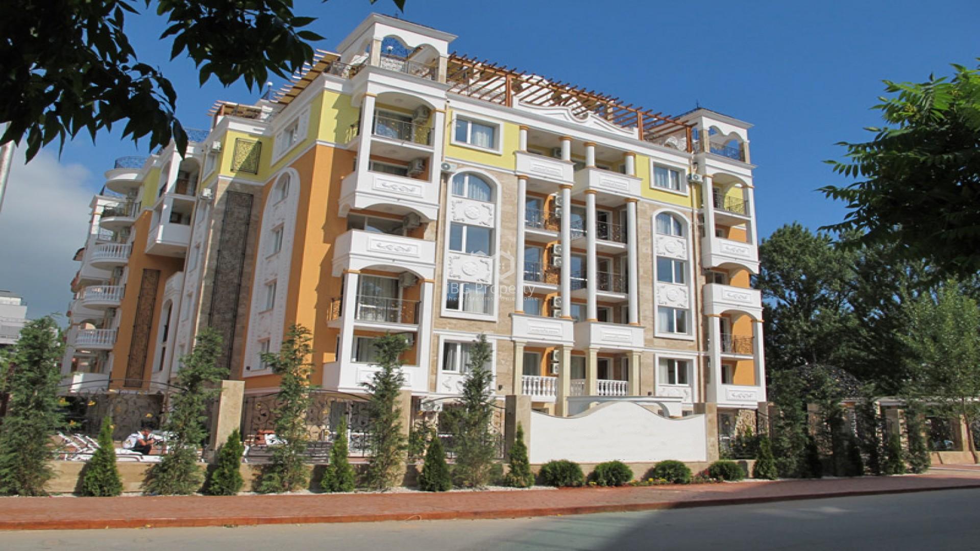 Двустаен апартамент Слънчев Бряг 59 m2