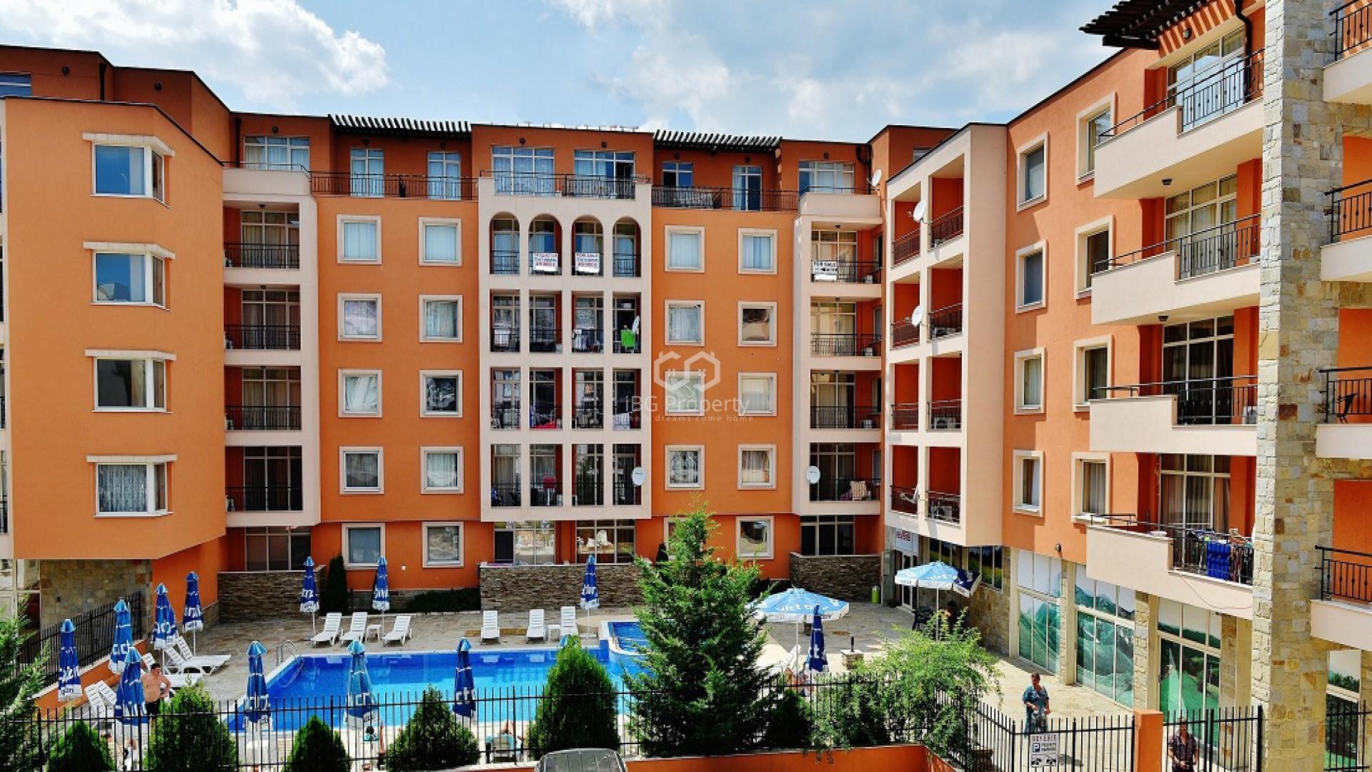 Двустаен апартамент Слънчев Бряг 67 m2