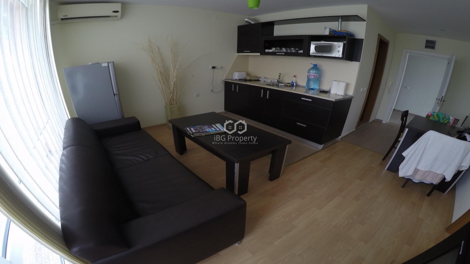 Двустаен апартамент Слънчев Бряг 56 m2