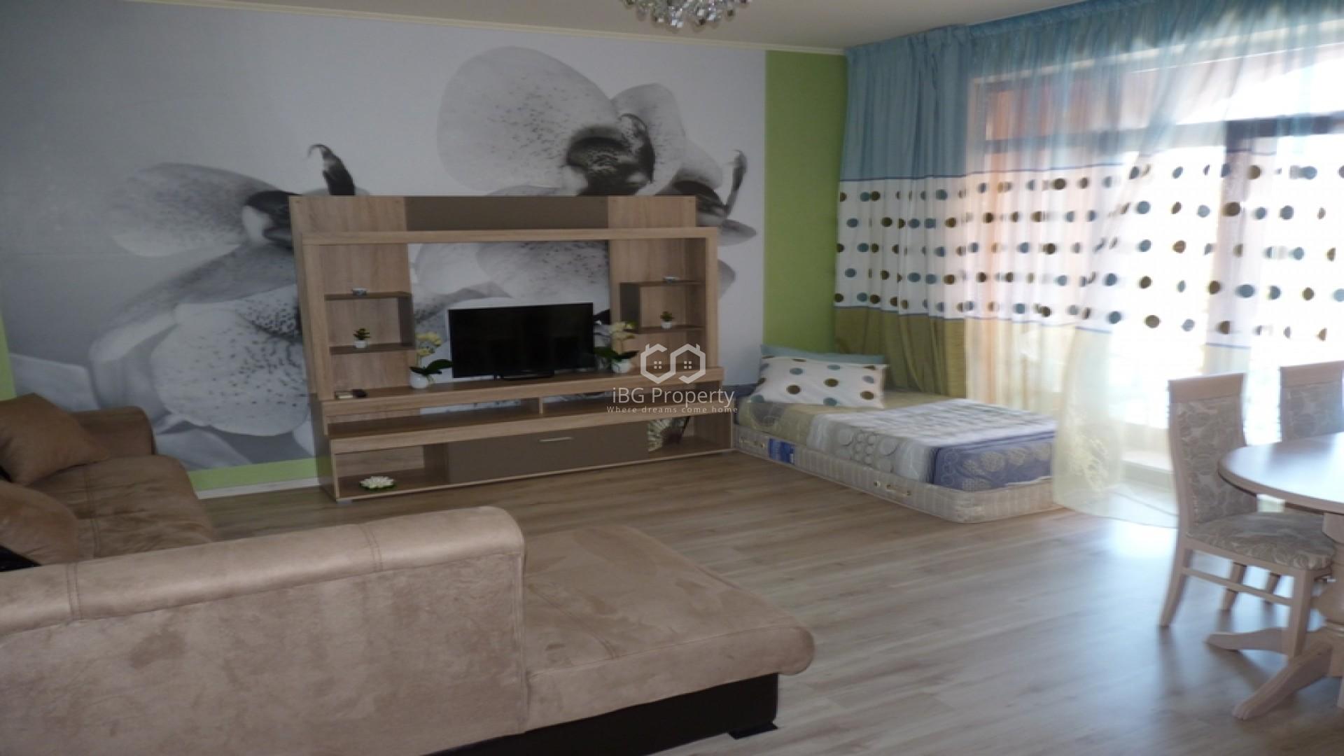 Двустаен апартамент Слънчев Бряг 52 m2