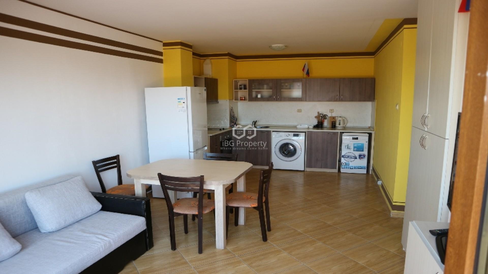 Двустаен апартамент Слънчев Бряг 75 m2