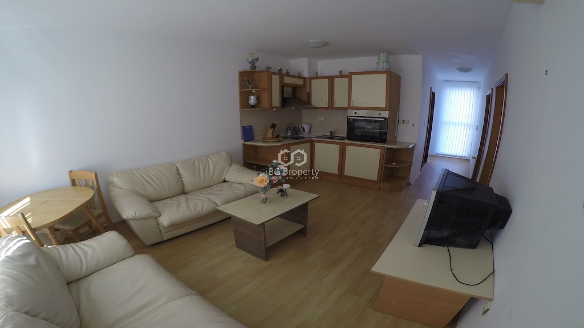 Tристаен апартамент Слънчев Бряг 69 m2