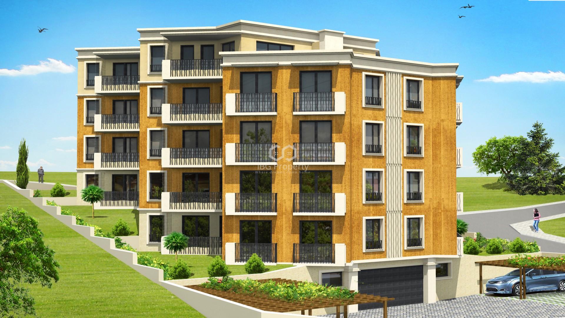 Tристаен апартамент Бриз Варна 79 m2