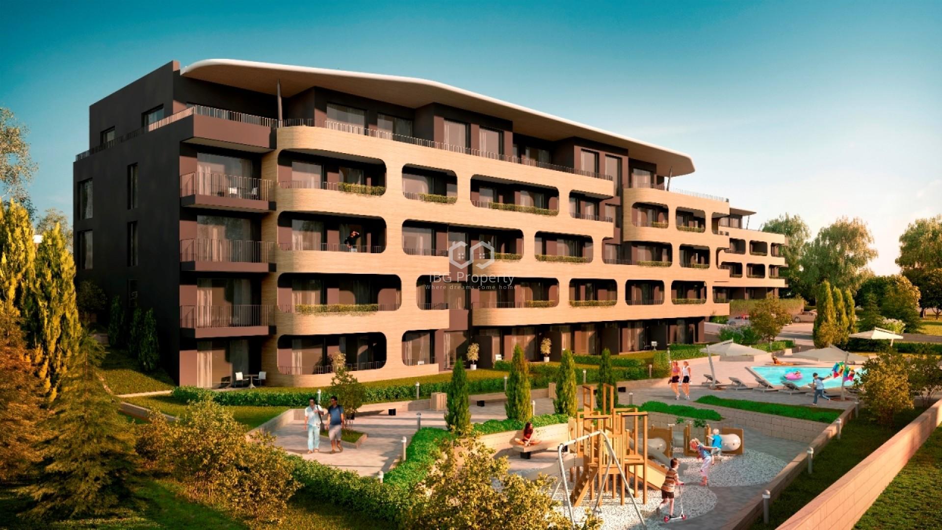 Двустаен апартамент Бриз Варна 54 m2