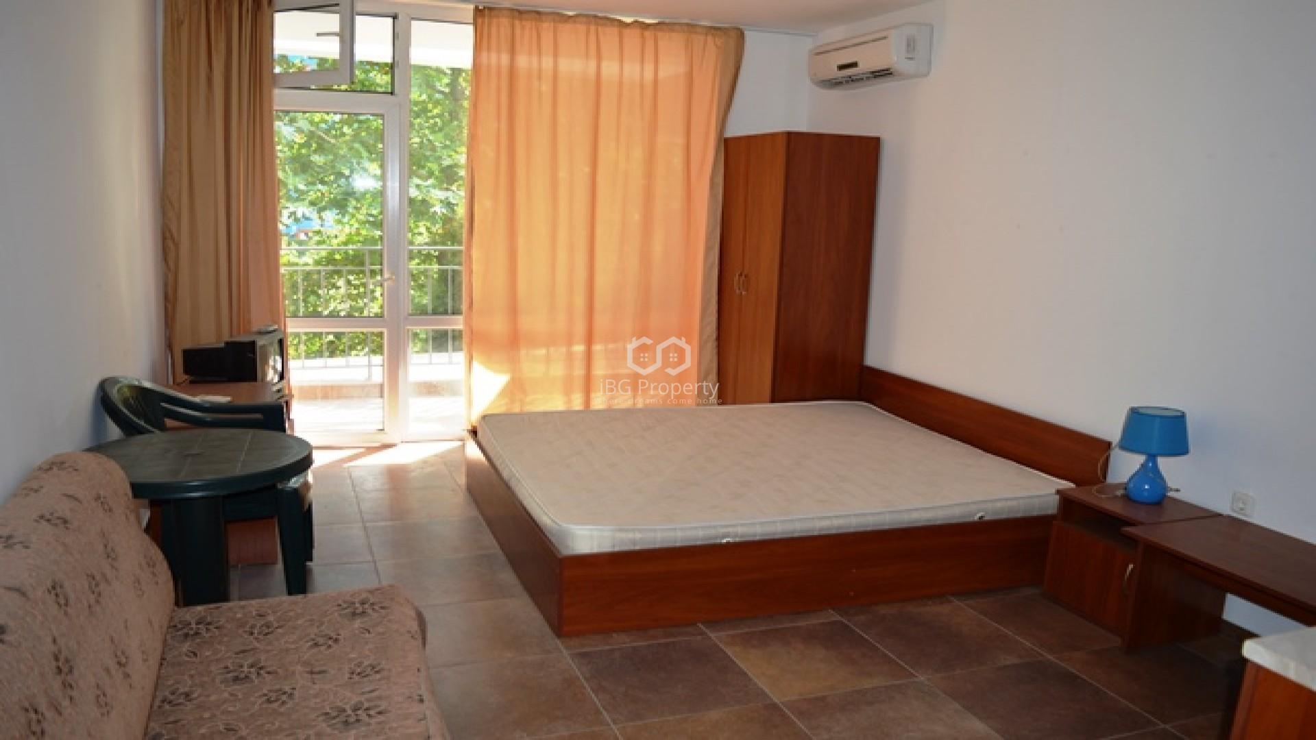 Едностаен апартамент Слънчев Бряг 32 m2