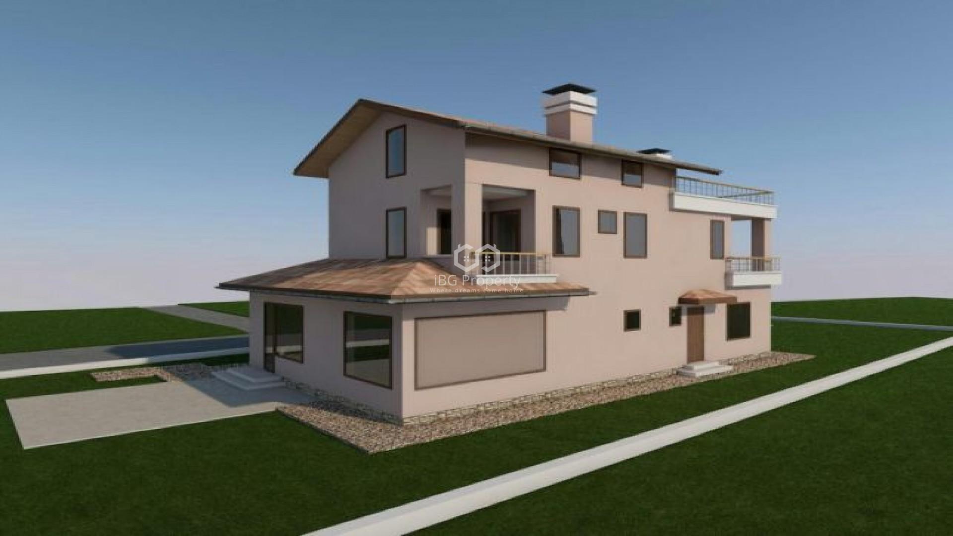 Къща Боровец Варна 243 m2