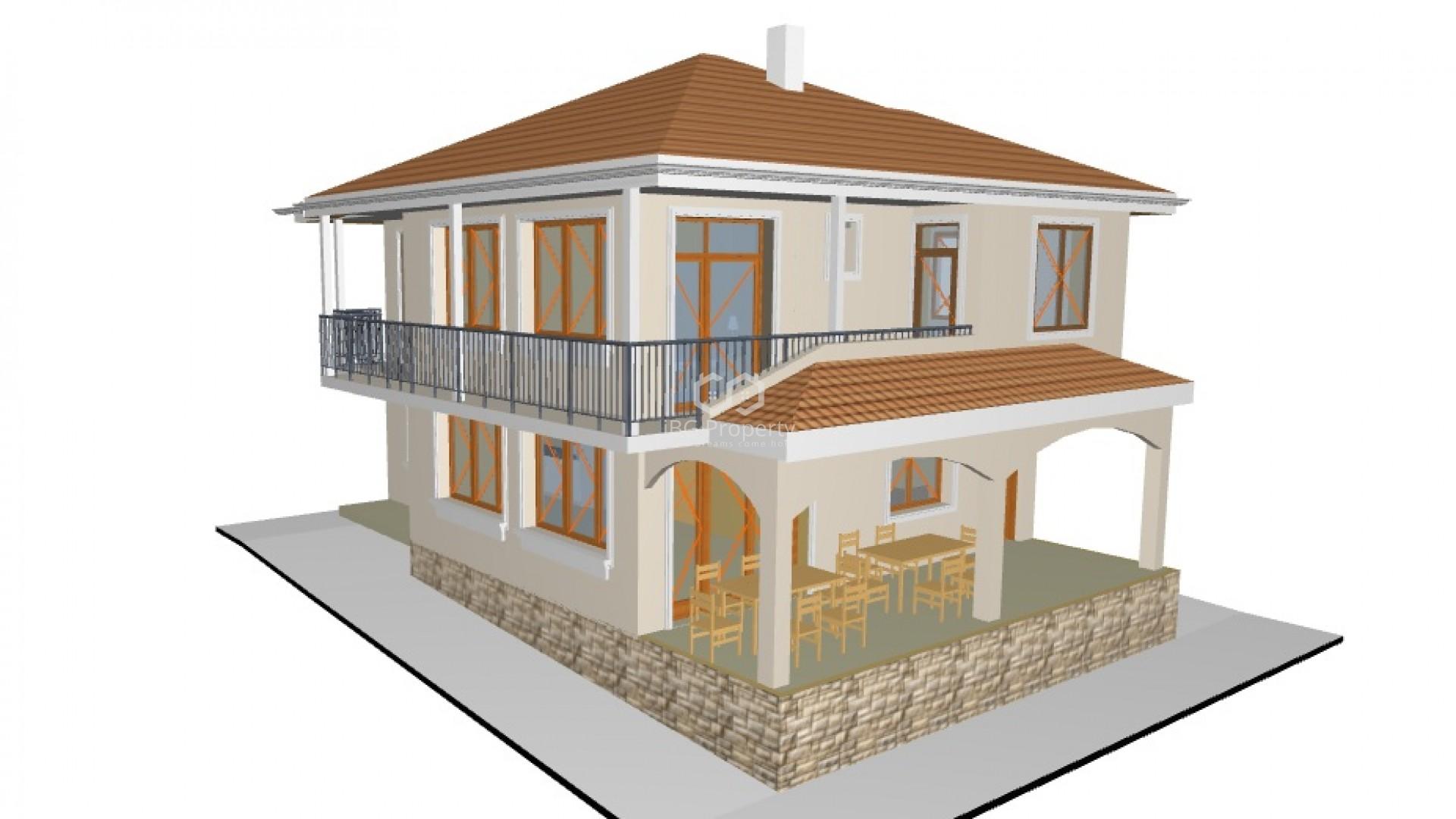 Къща Банево 186 m2