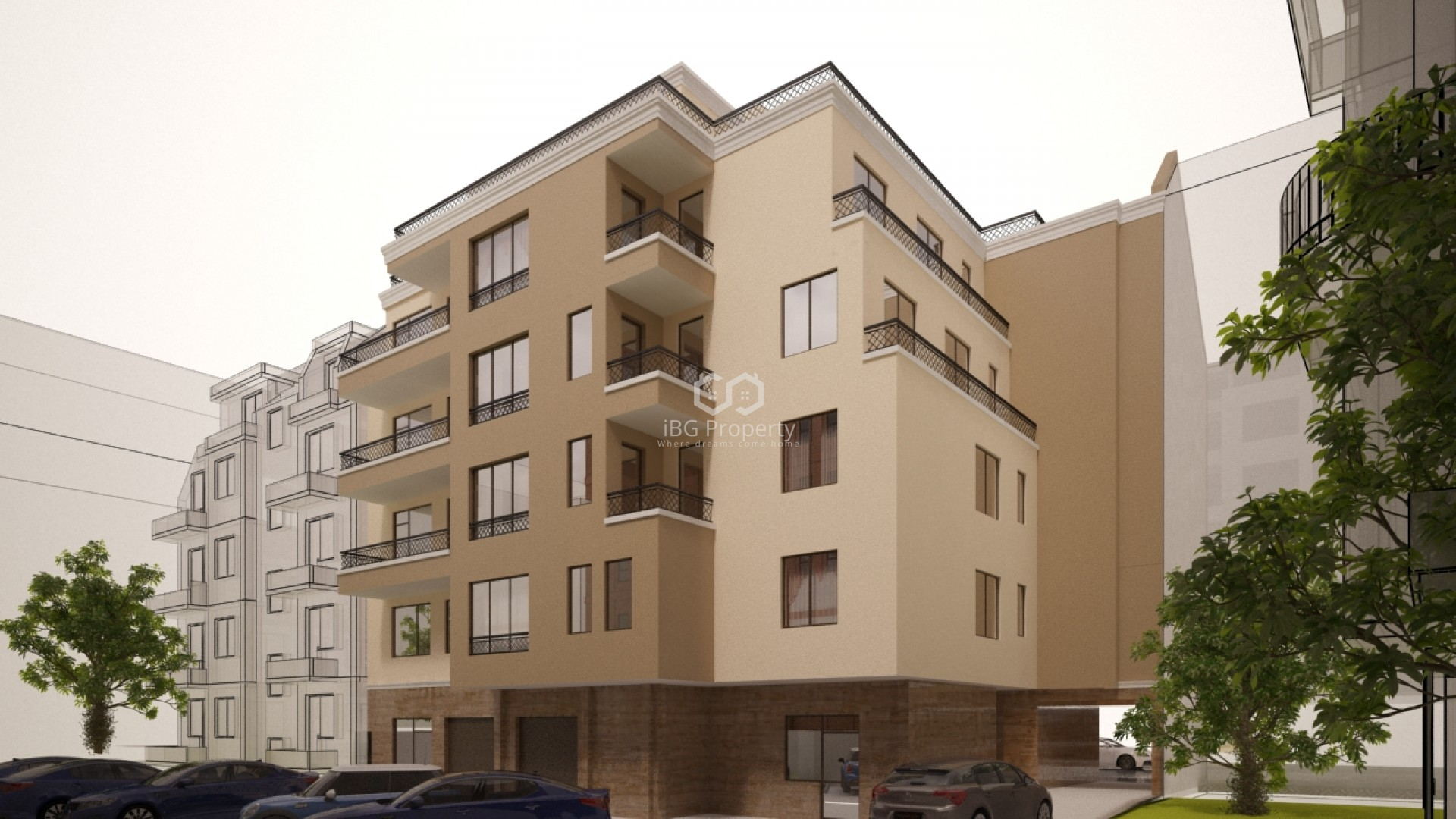 Двустаен апартамент Възраждане Бургас 76 m2