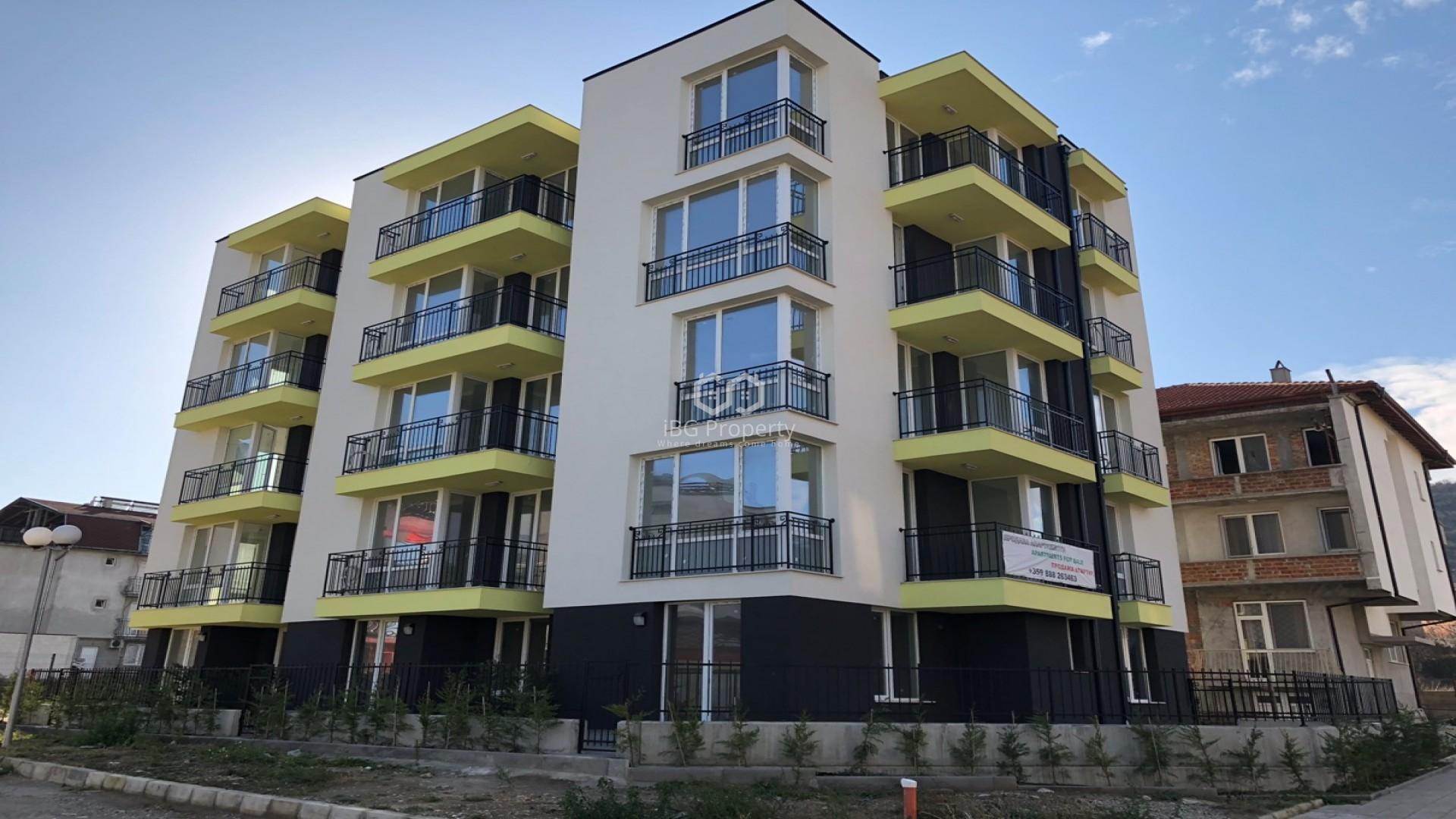 Двустаен апартамент Обзор 52 m2