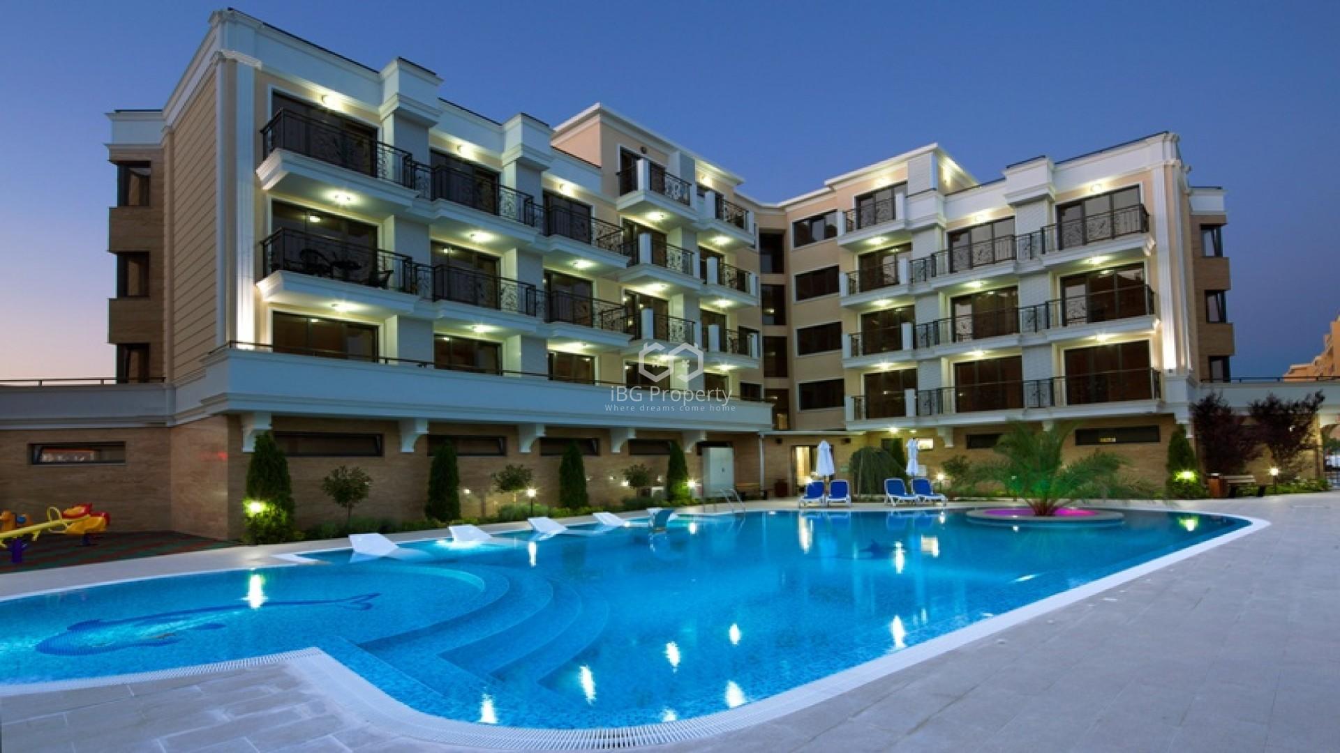 Двустаен апартамент Слънчев Бряг 51 m2