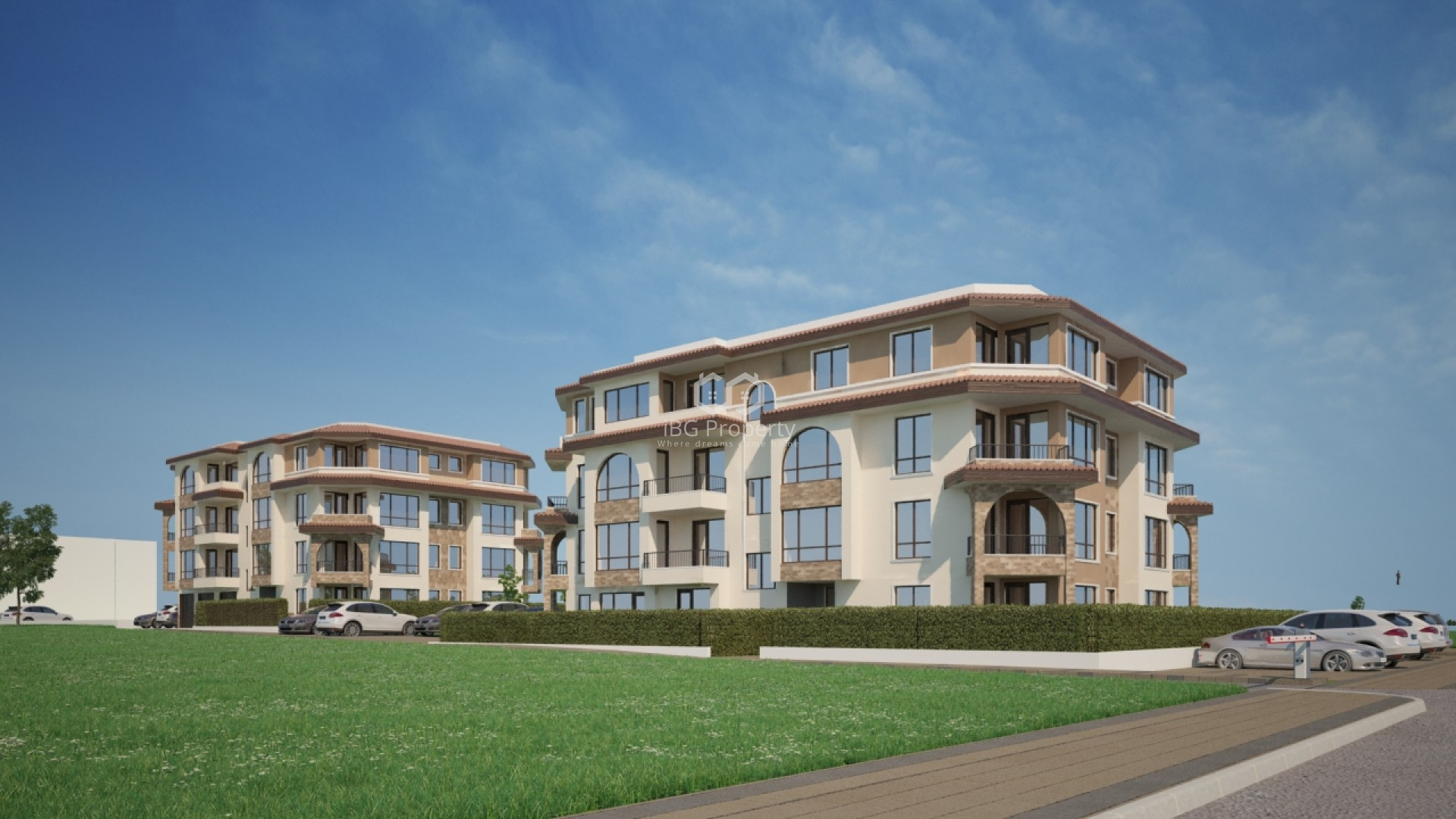 Тристаен апартамент Сарафово Бургас 83 m2