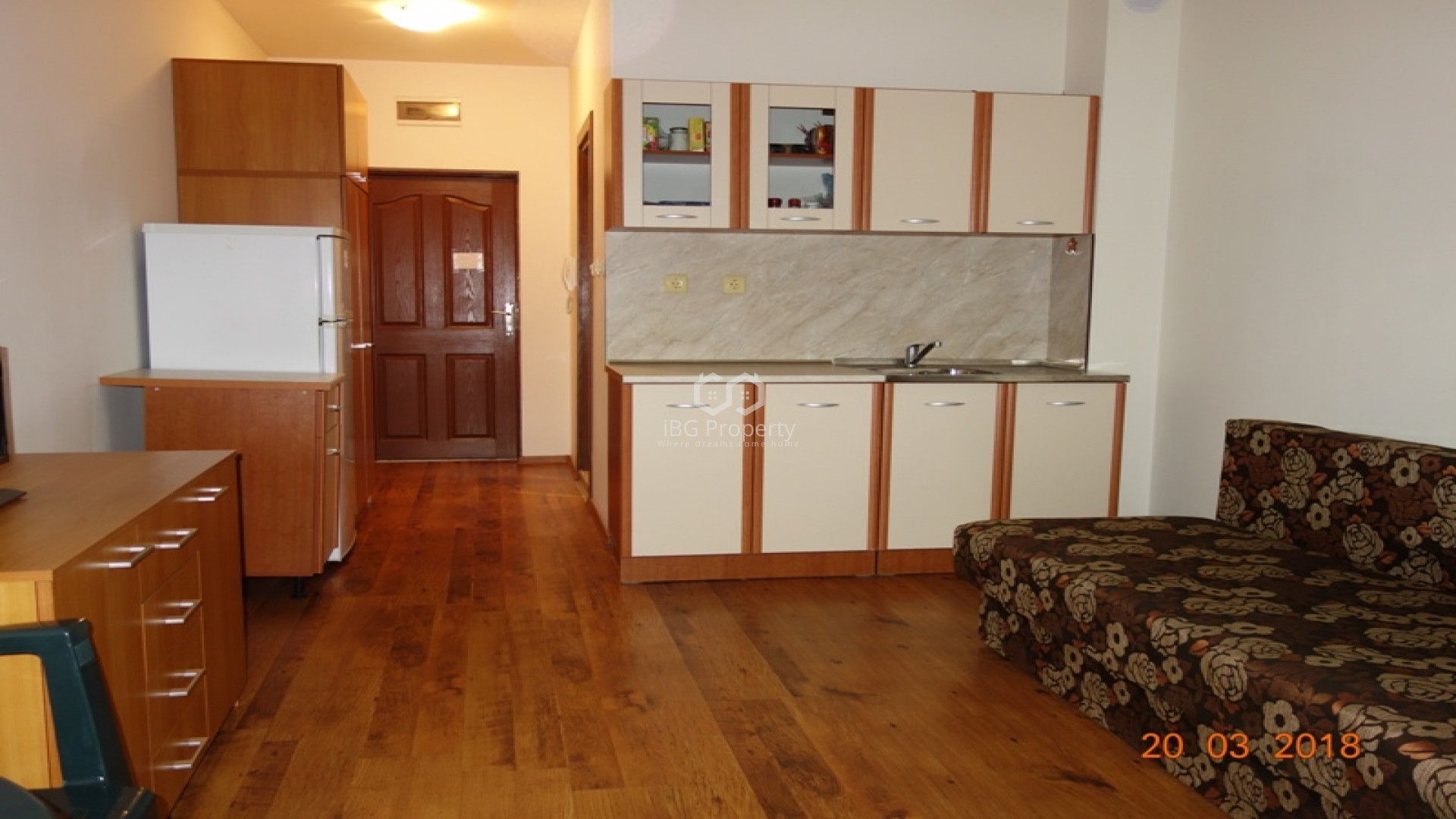 Едностаен апартамент Свети Влас 38 m2
