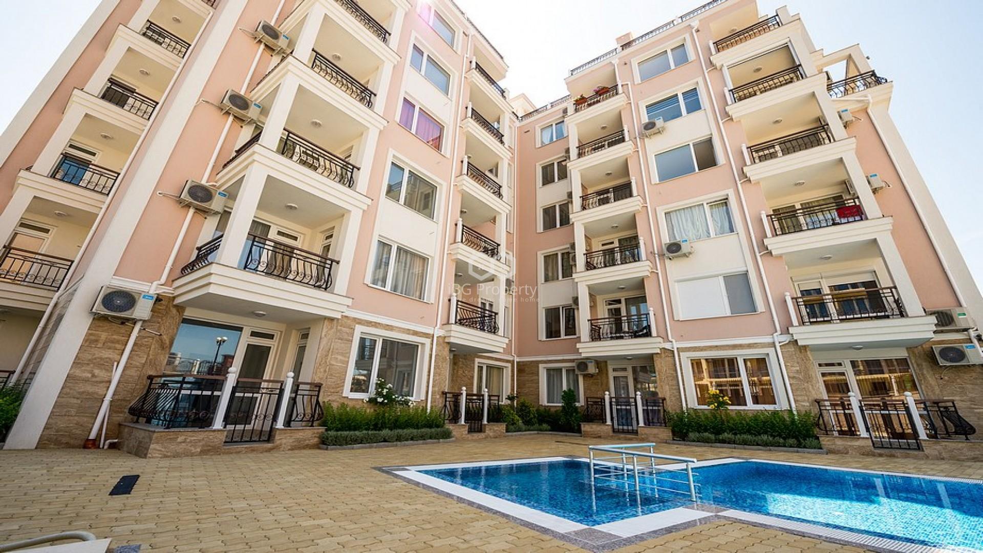 Двустаен апартамент Свети Влас 81 m2