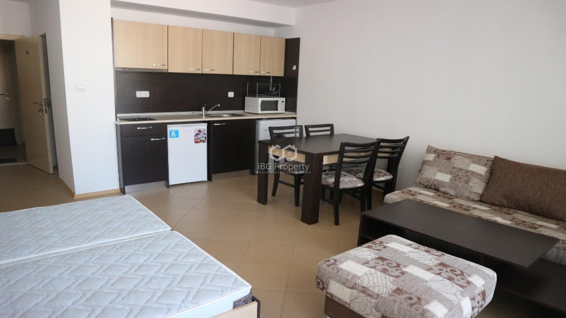 Eдностаен апартамент Слънчев бряг 51 m2