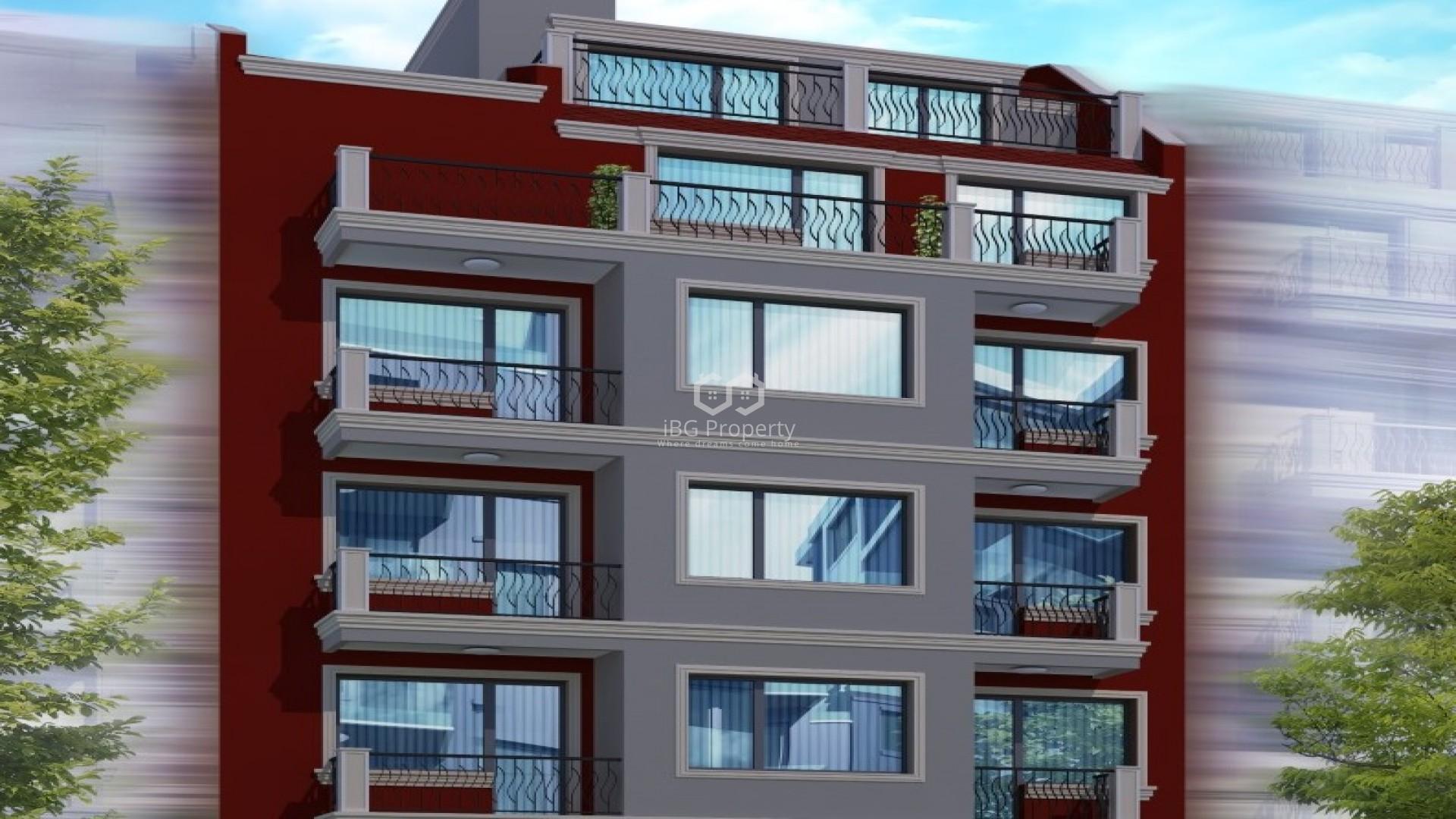 Едностаен апартамент Цветен квартал Варна 52 m2