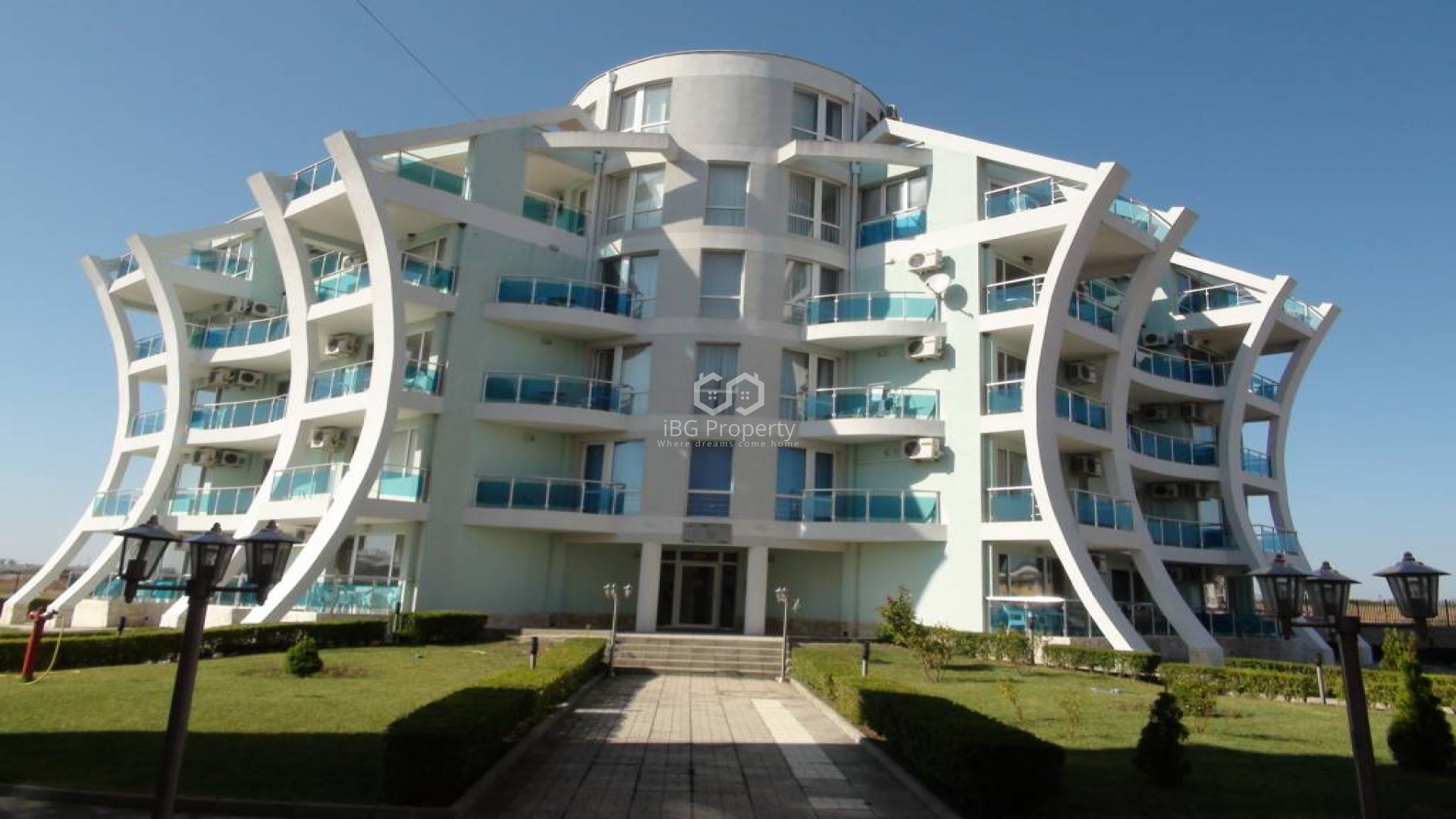 Двустаен апартамент Ахелой 65 m2