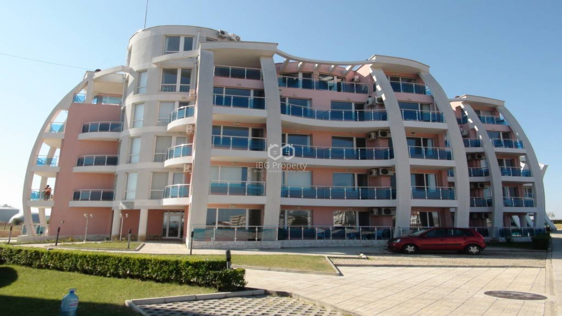 Двустаен апартамент Ахелой 95 m2