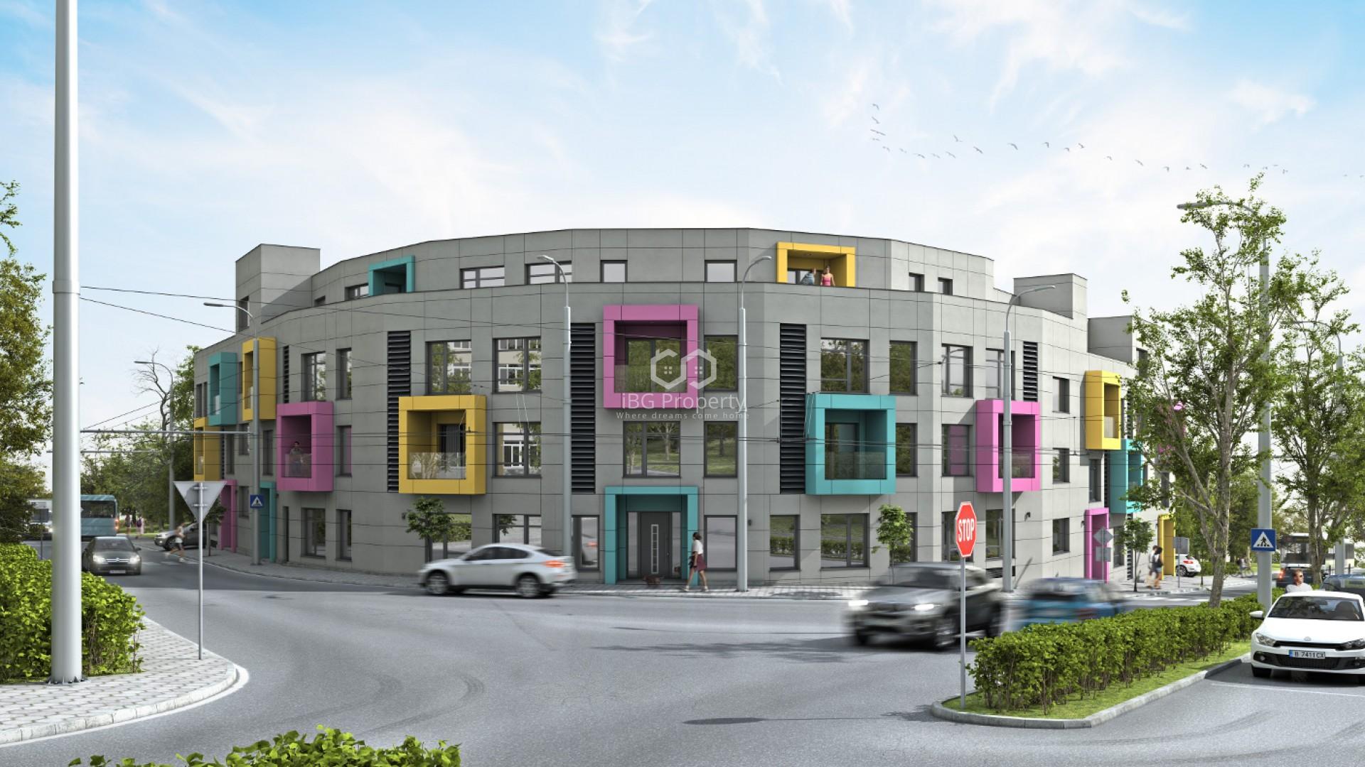Двустаен апартамент Бриз Варна 99,09 m2
