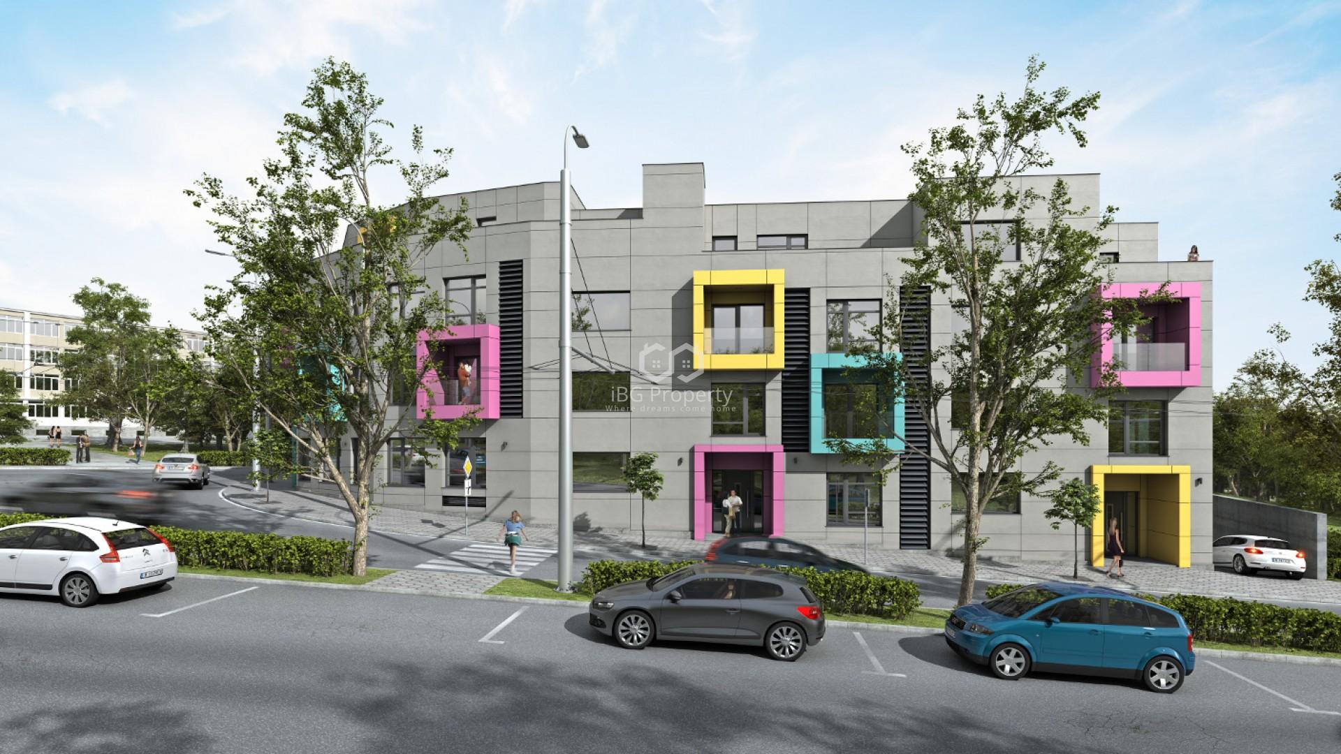 Двустаен апартамент Бриз Варна 94,42 m2