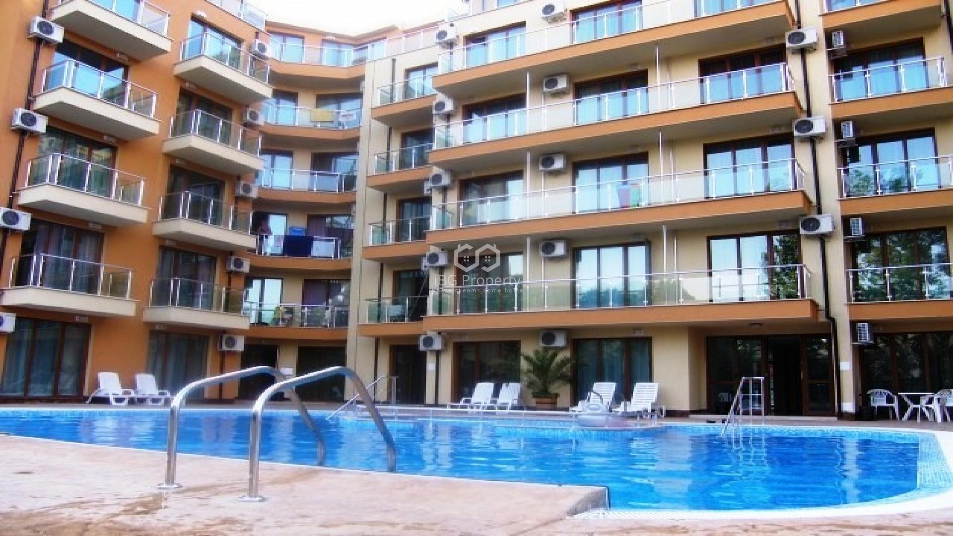 Eдностаен апартамент Слънчев Бряг 36,5 m2