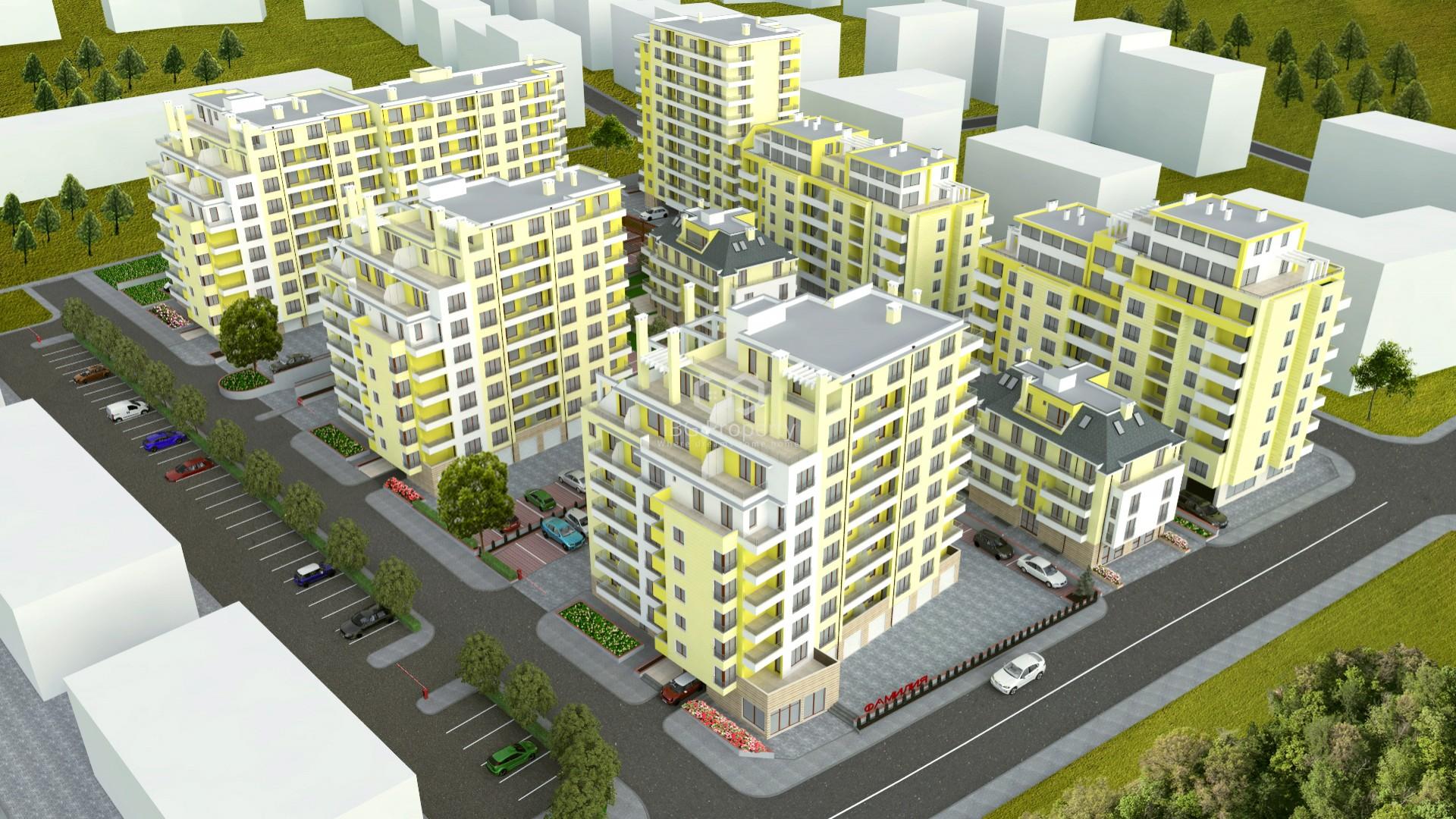 Двустаен апартамент Победа Варна 60,47 m2