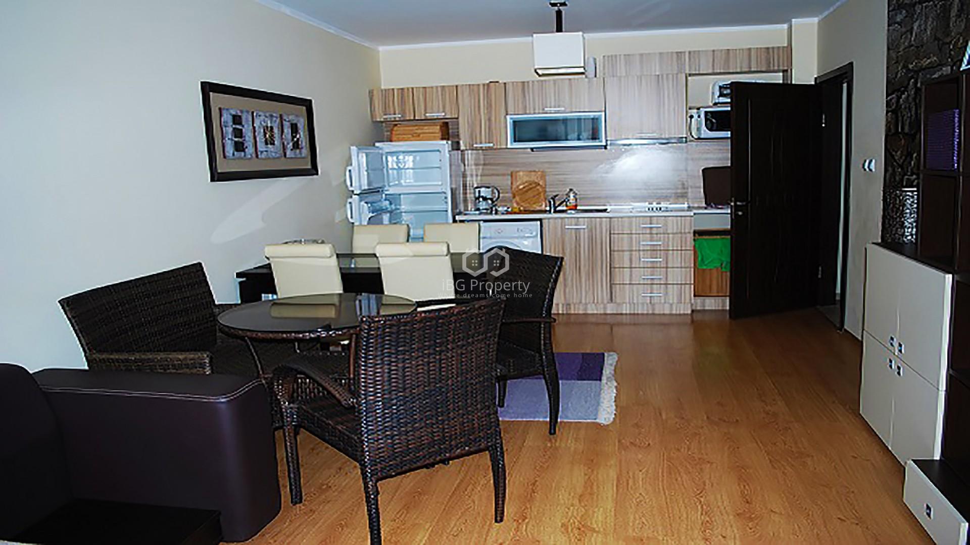 Двустаен апартамент Слънчев Бряг 72 m2