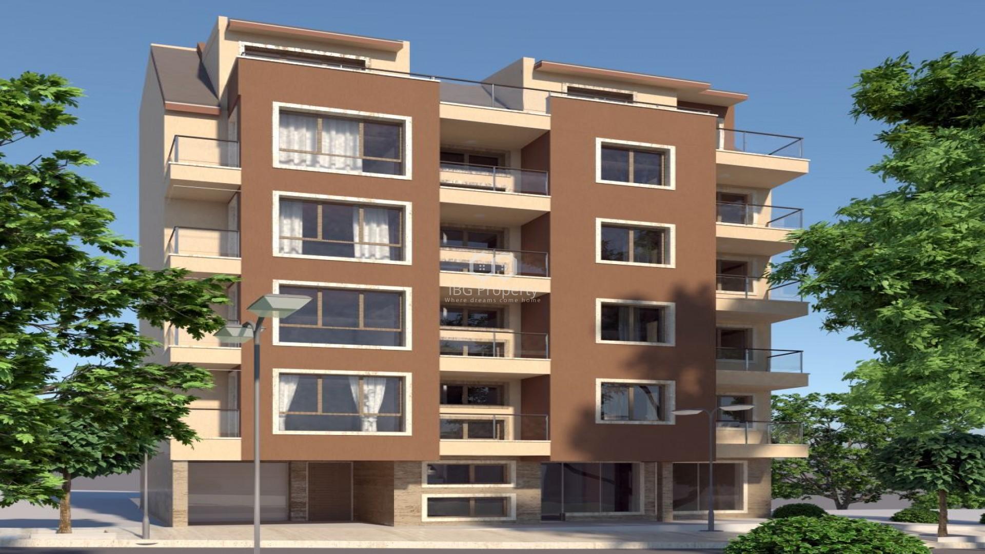 Двустаен апартамент Колхозен пазар Варна 61,69 m2