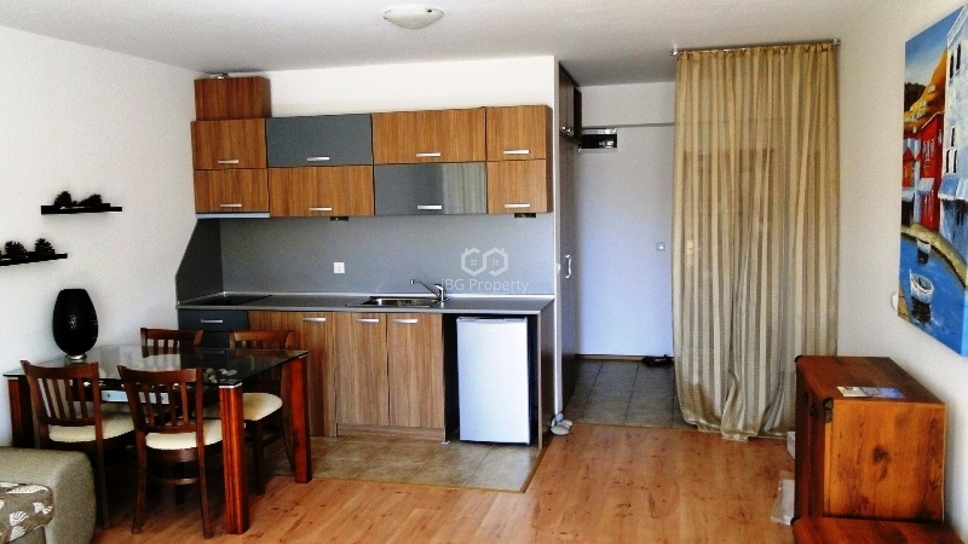 Eдностаен апартамент Бяла  50 m2