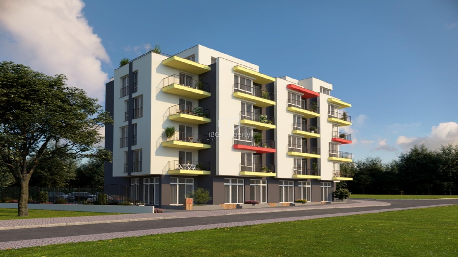 Едностаен апартамент Обзор 39,03 кв.м
